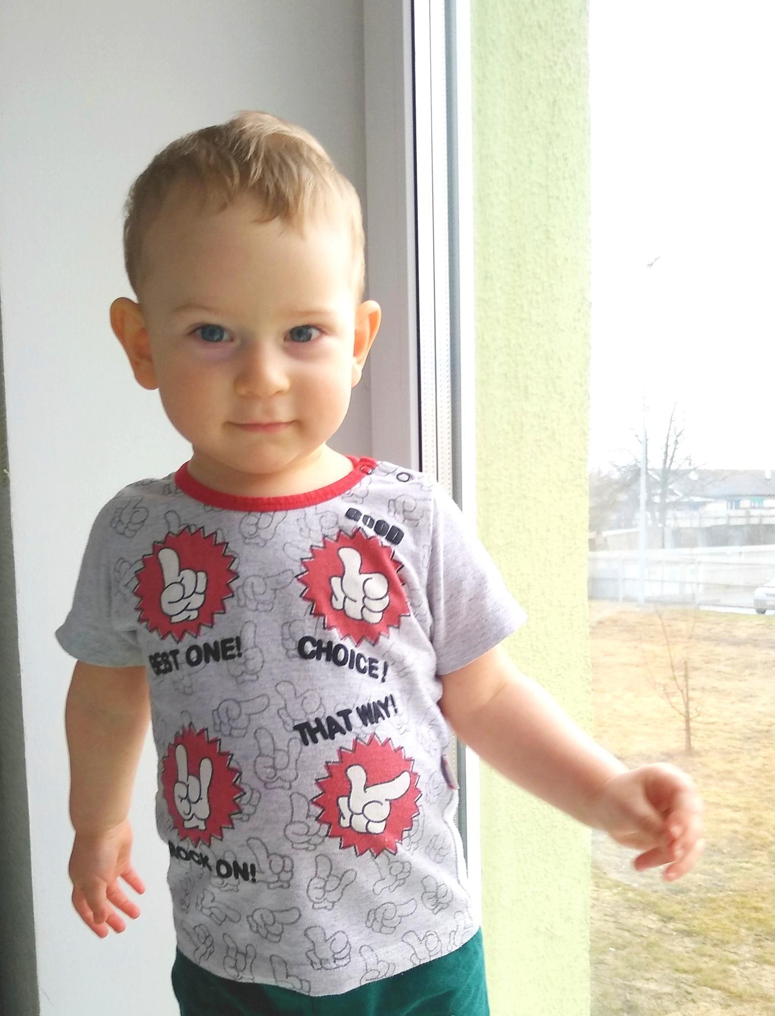У двухлетнего Руслана – светлоклеточная саркома правой почки 2 стадии