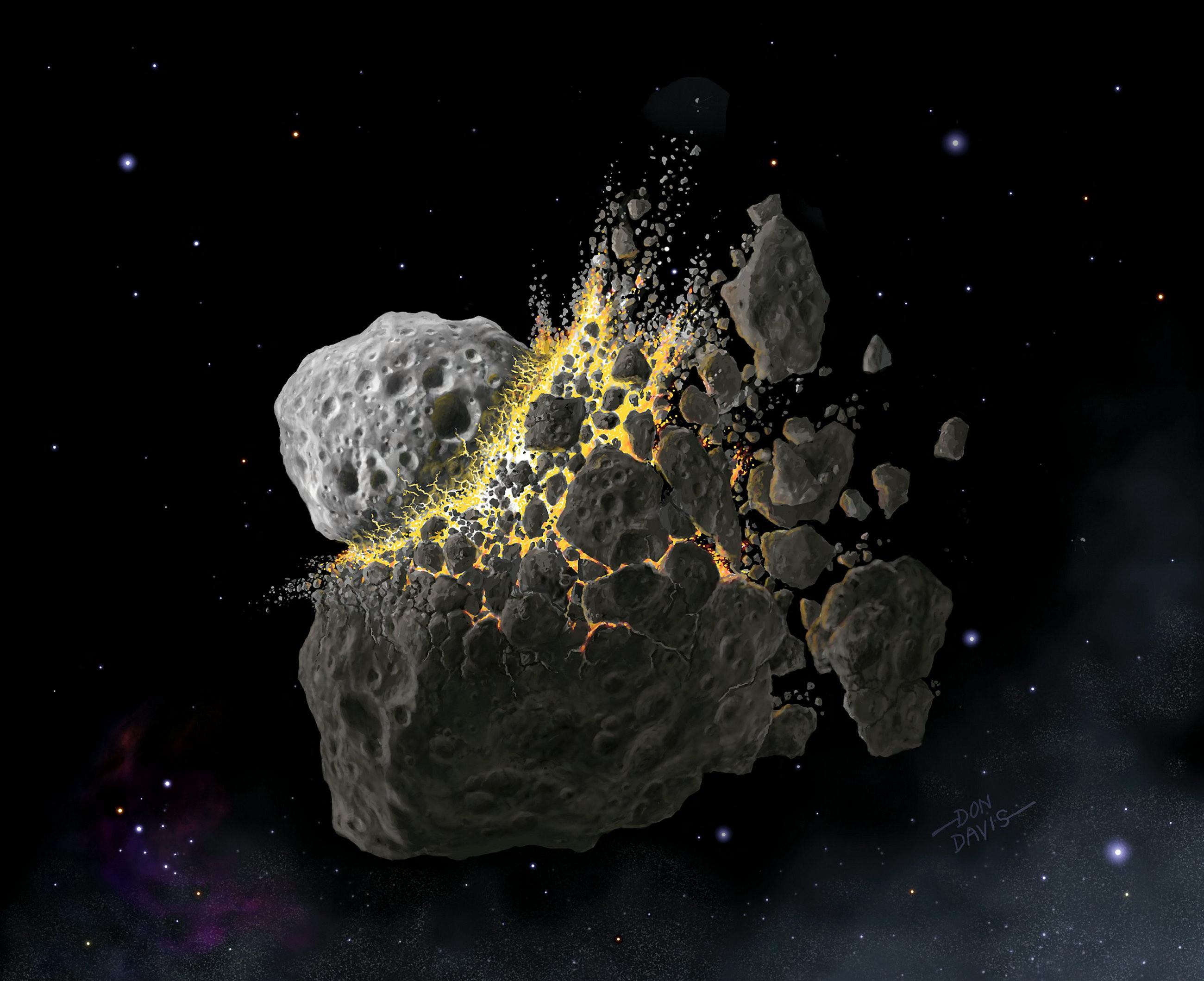Загадка силурийского невымирания: как астероид помог жизни на Земле