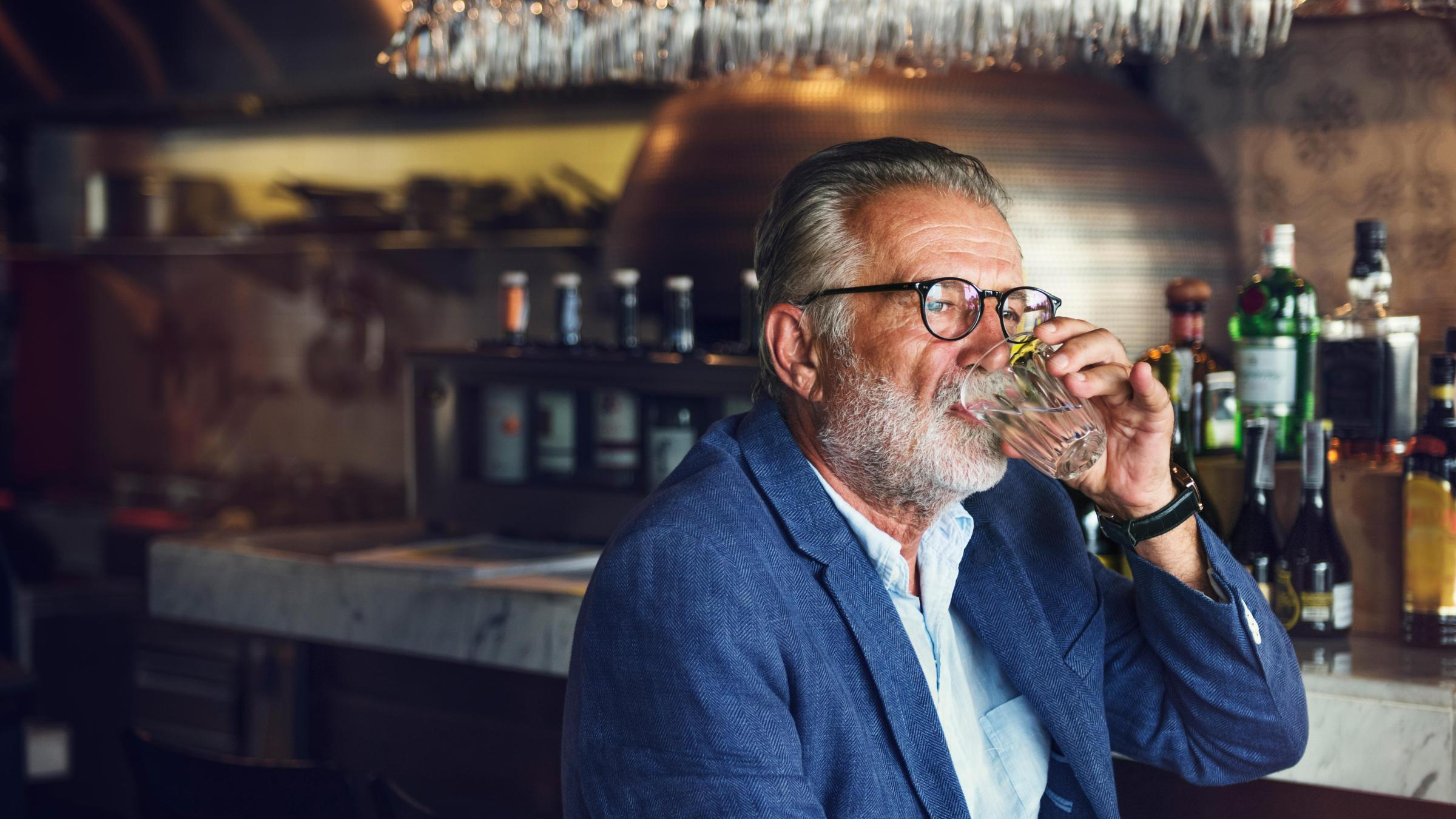 У умеренно пьющих риск деменции не оказался повышенным
