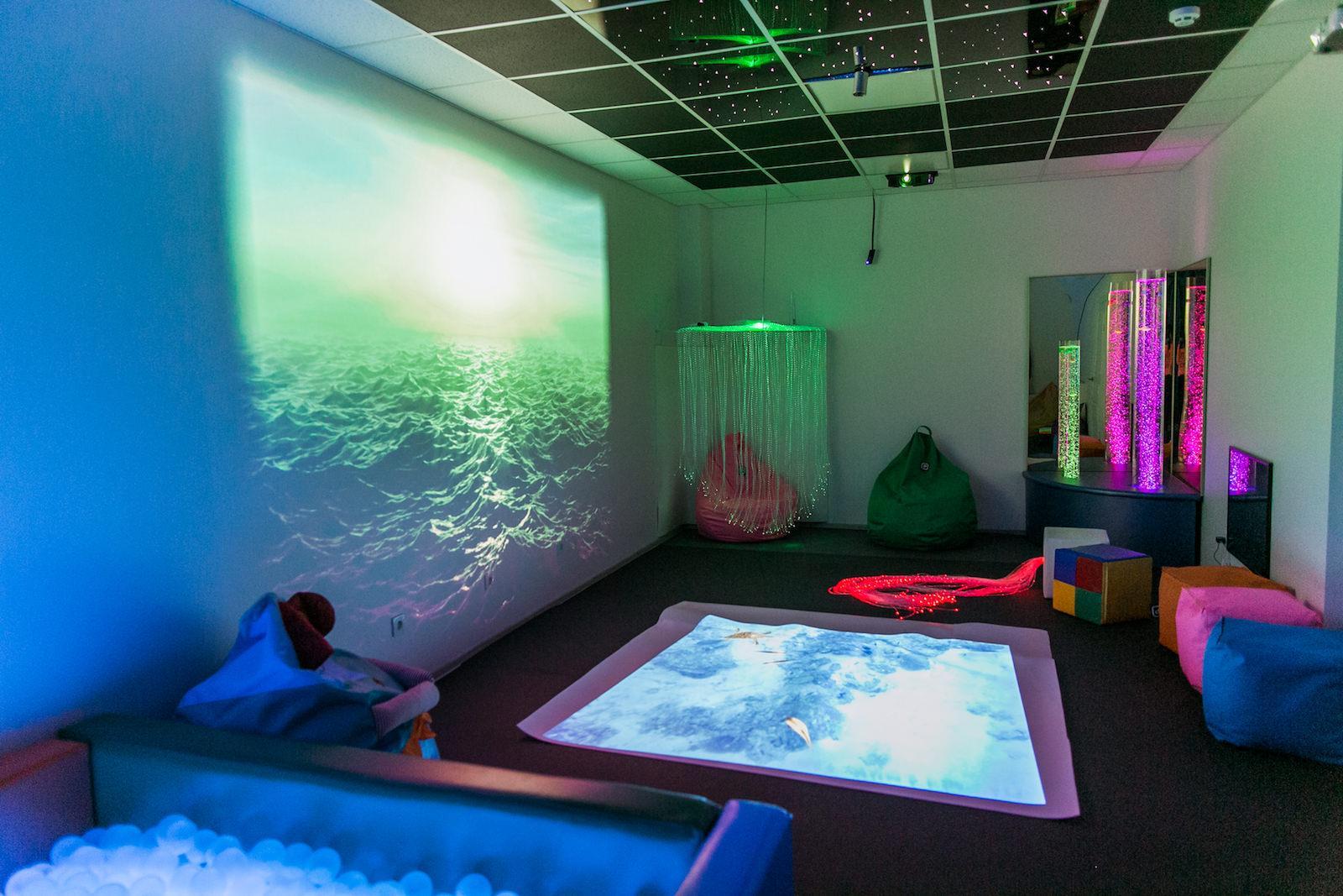 Оборудование для детской сенсорной комнаты