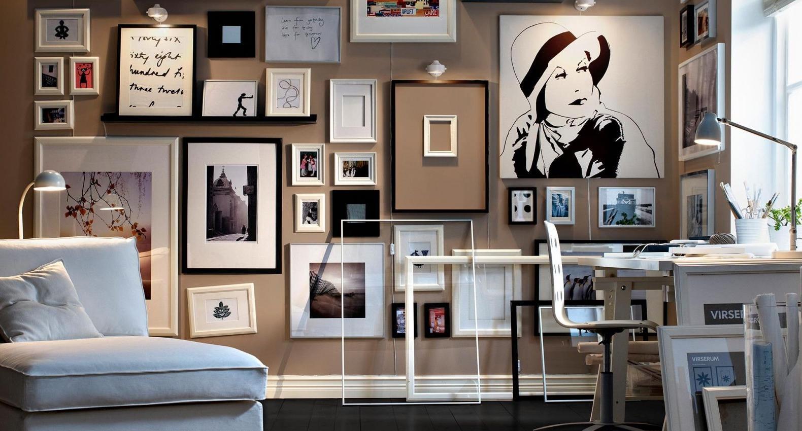 Выбор и расположение картин: 10 советов от дизайнеров интерьеров