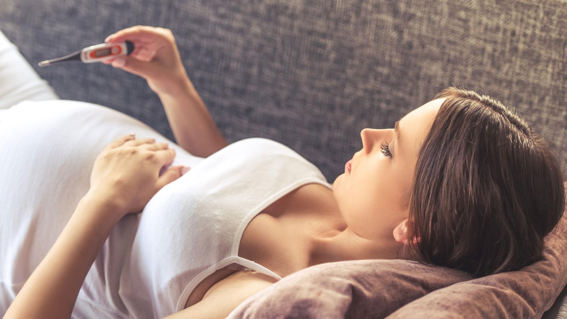Простуда способна передаваться плоду через плаценту