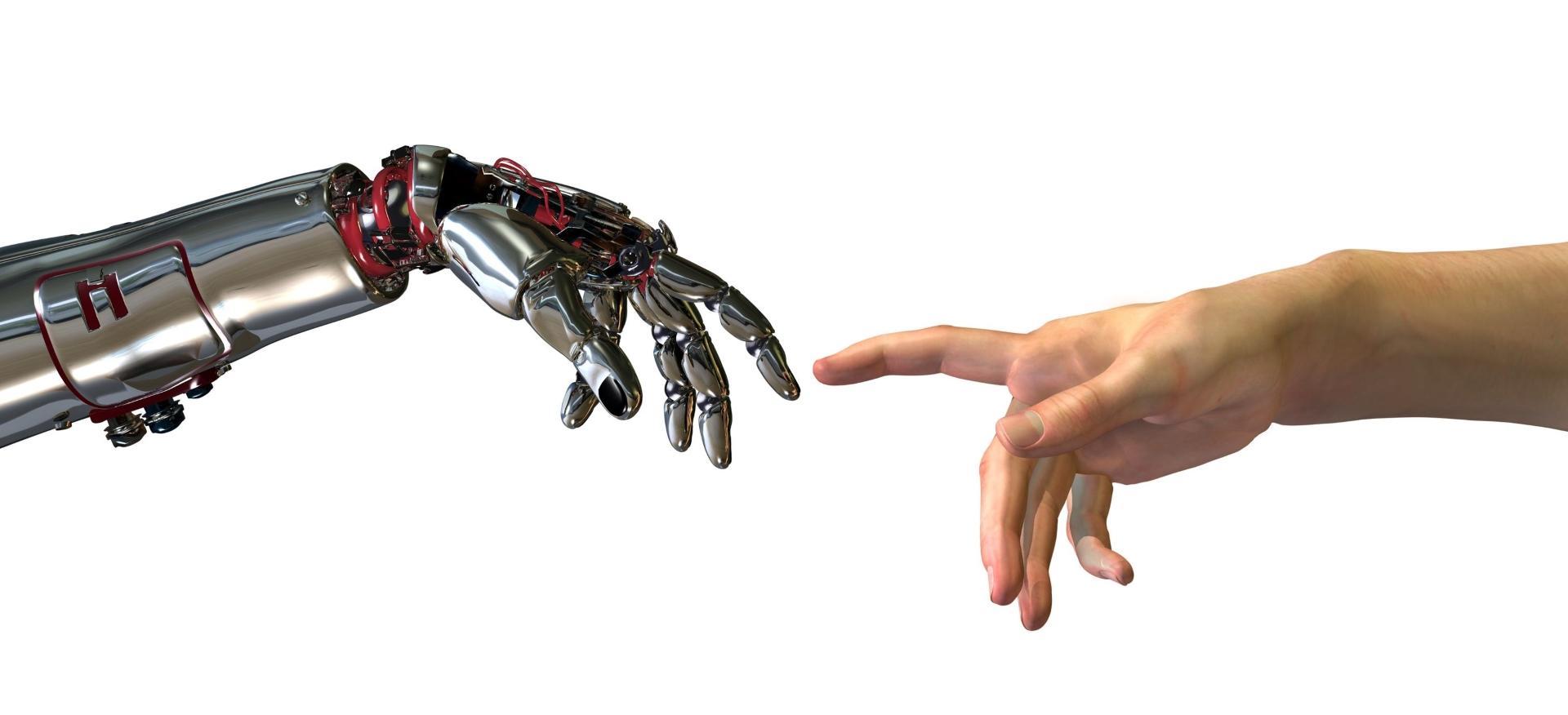 Виртуальную руку научили осязанию