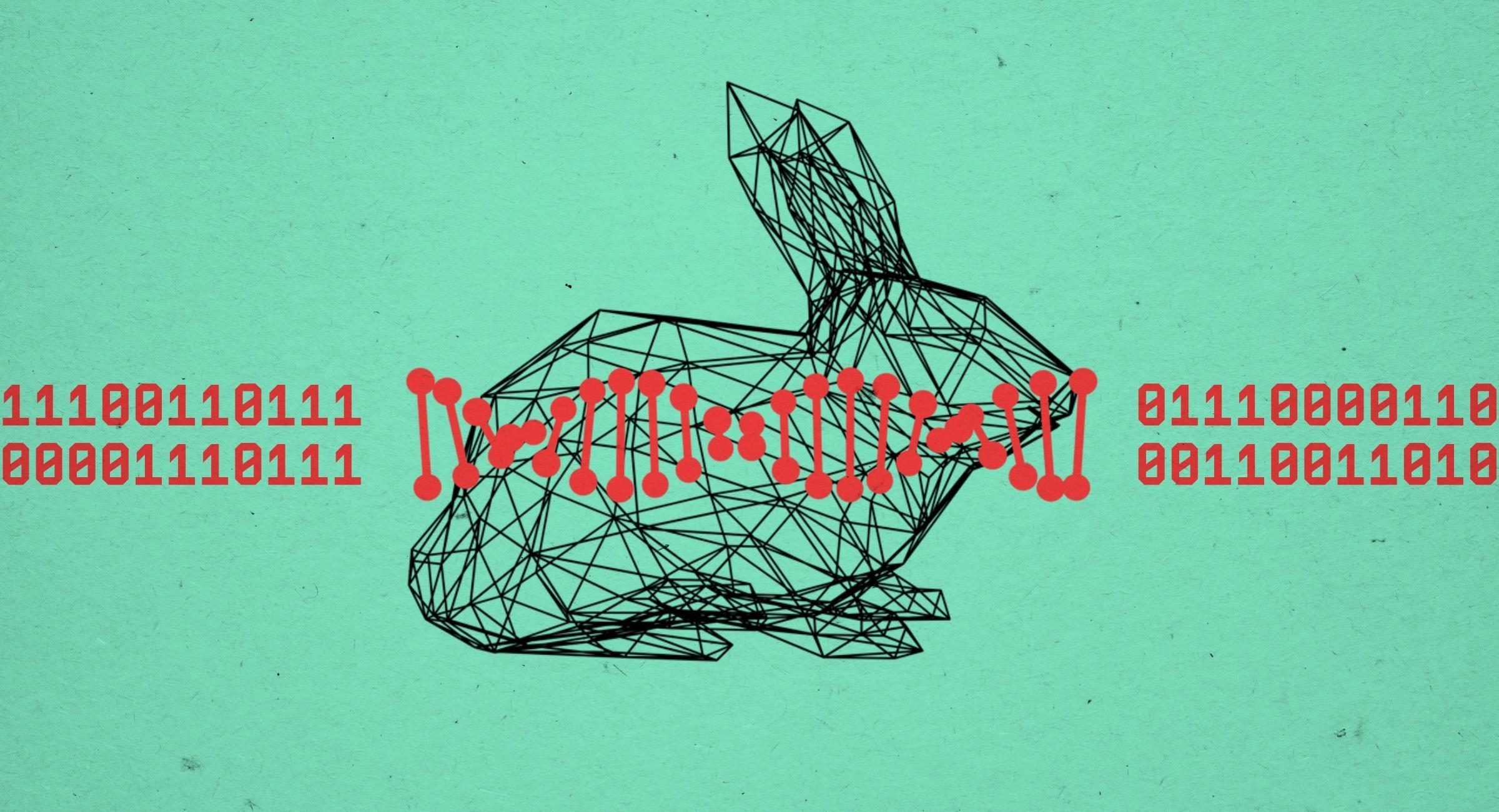 В 3D-печатном кролике спрятали ДНК с инструкциями по его печати
