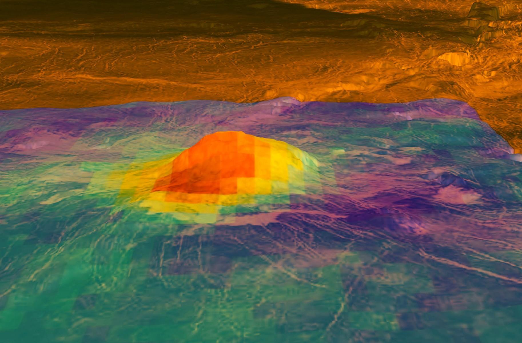 На Венере нашли молодые лавовые потоки
