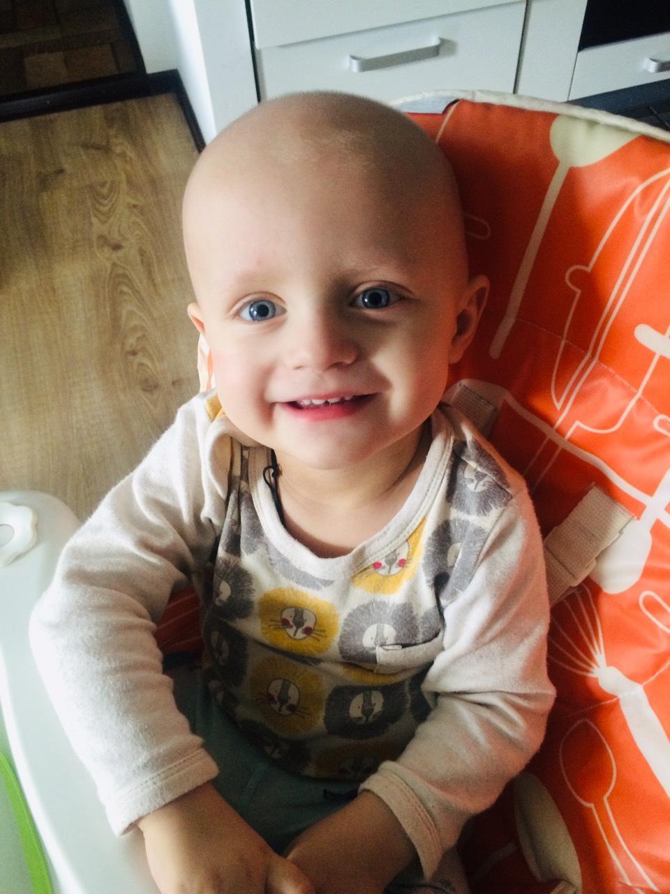Спасите жизнь ребенку! У маленького Ильюши прогрессирует онкология