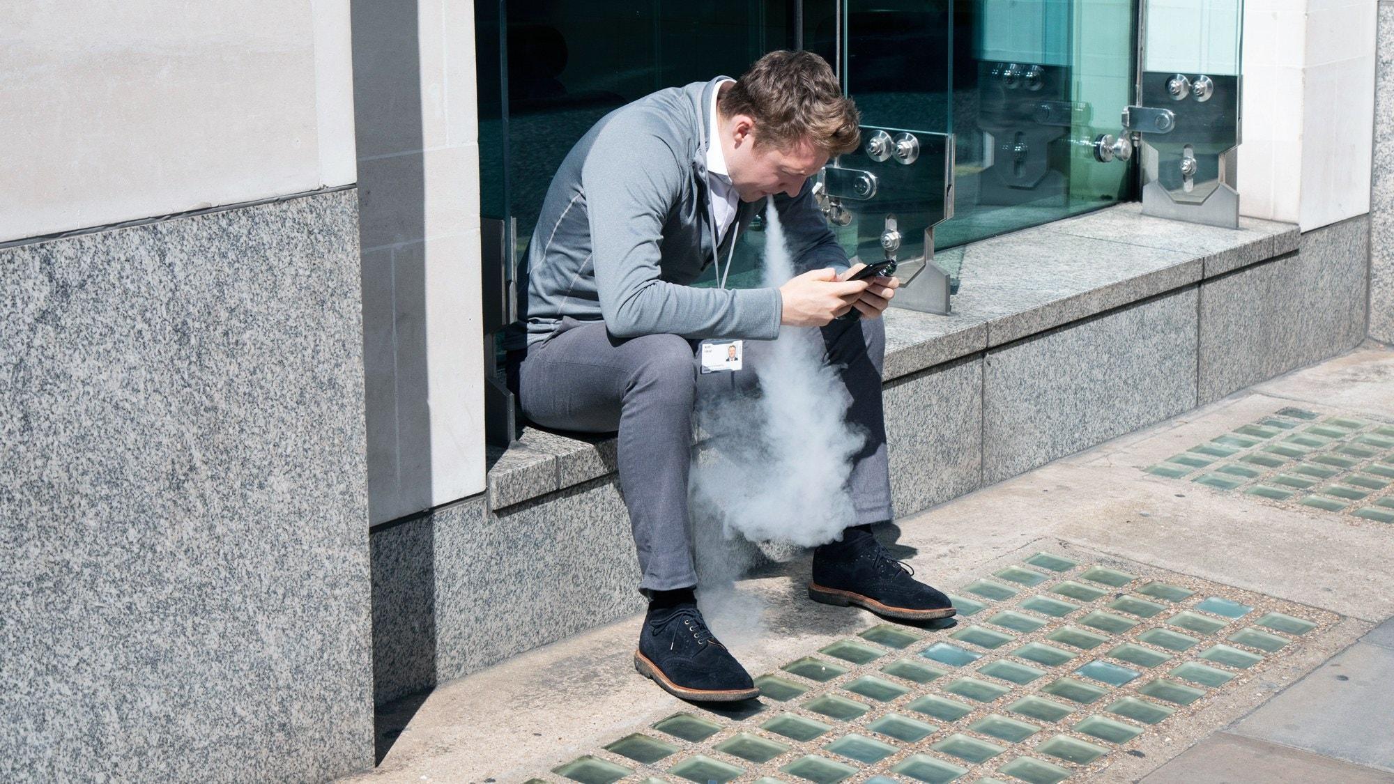 ВОЗ против электронных сигарет