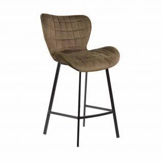 barniy stul b 22 kapuchino velvet 23439817 - Качественные металлические стулья - лучший вариант для современного интерьера