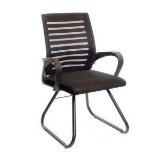 kreslo fidzhi cf cherniy cherniy 47437146 - Качественные металлические стулья - лучший вариант для современного интерьера