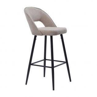 polubarniy stul taylor bezheviy 31439770 - Качественные металлические стулья - лучший вариант для современного интерьера