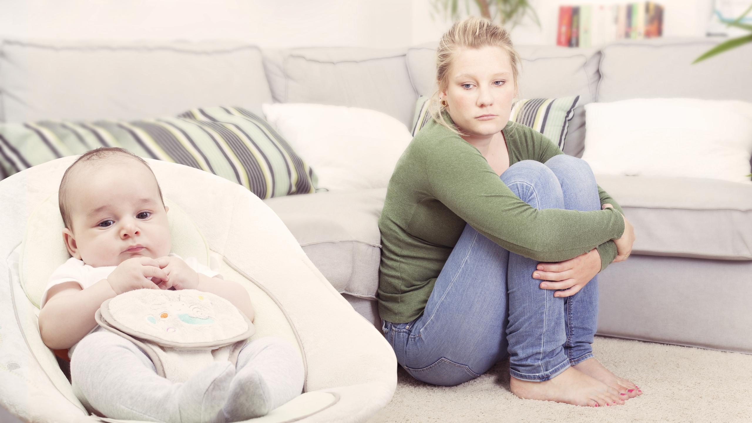 Пережившие послеродовое психическое расстройство женщины не захотели рожать еще