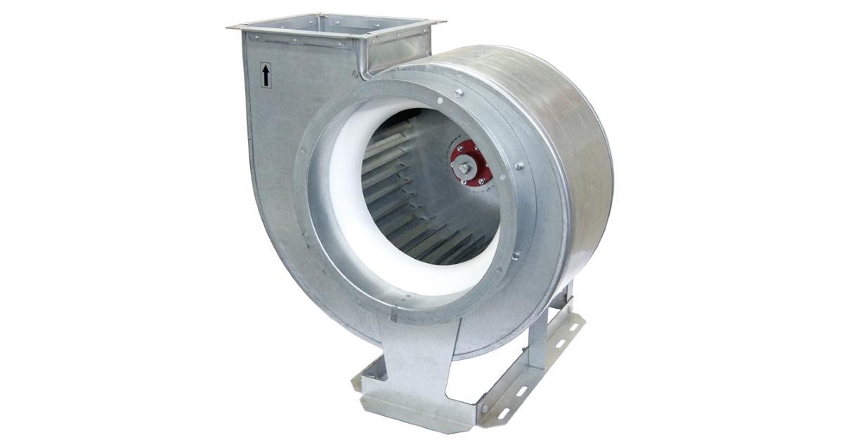 Описание промышленных вентиляторов, их применение в системах общеобменной вентиляции