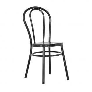 stul austria cherniy 10406317 - Качественные металлические стулья - лучший вариант для современного интерьера