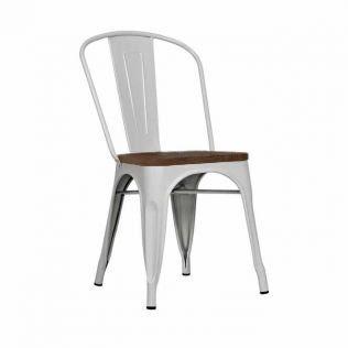 stul motive wood beliy 10439923 - Качественные металлические стулья - лучший вариант для современного интерьера