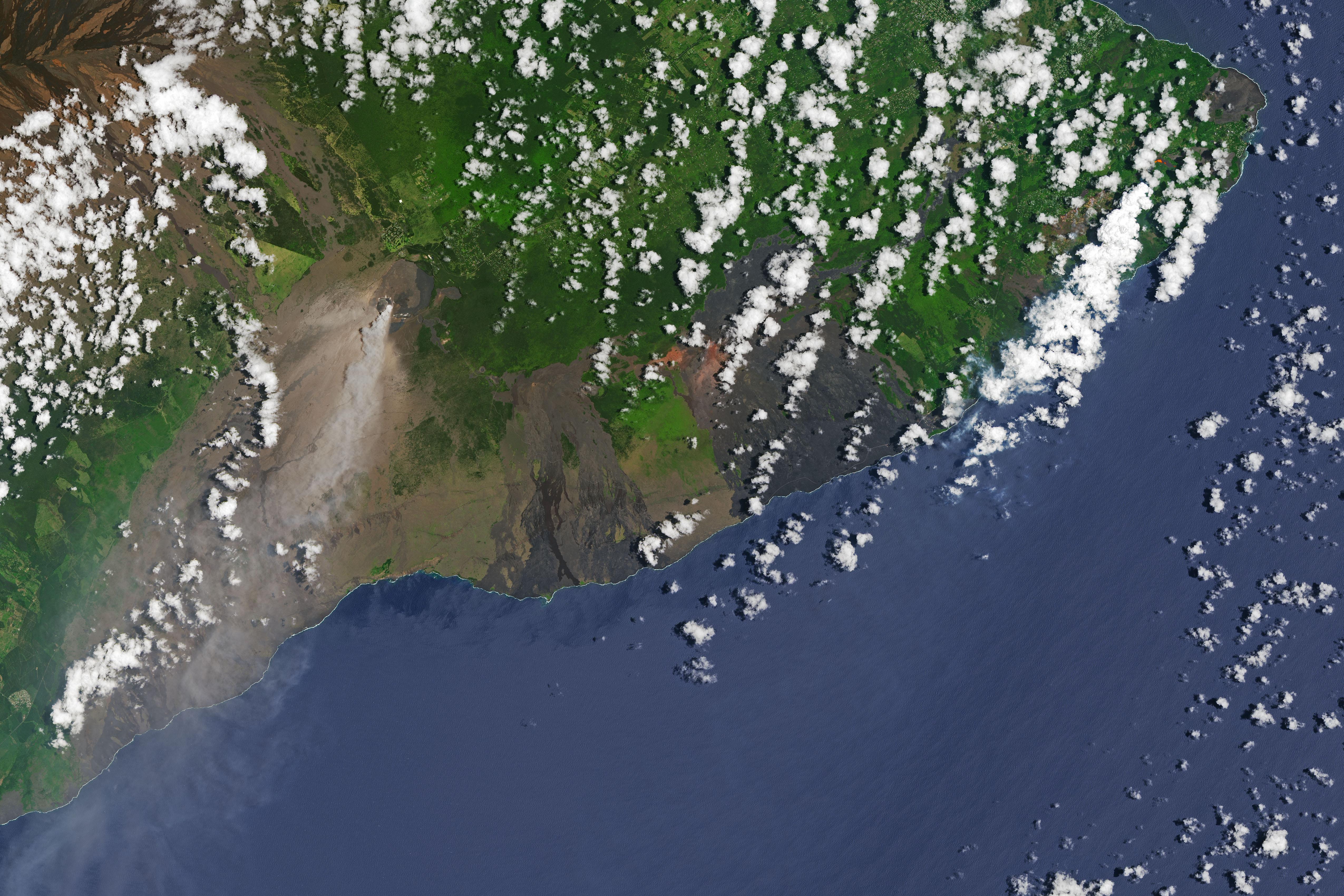 Мощное извержение вулкана было вызвано... дождями