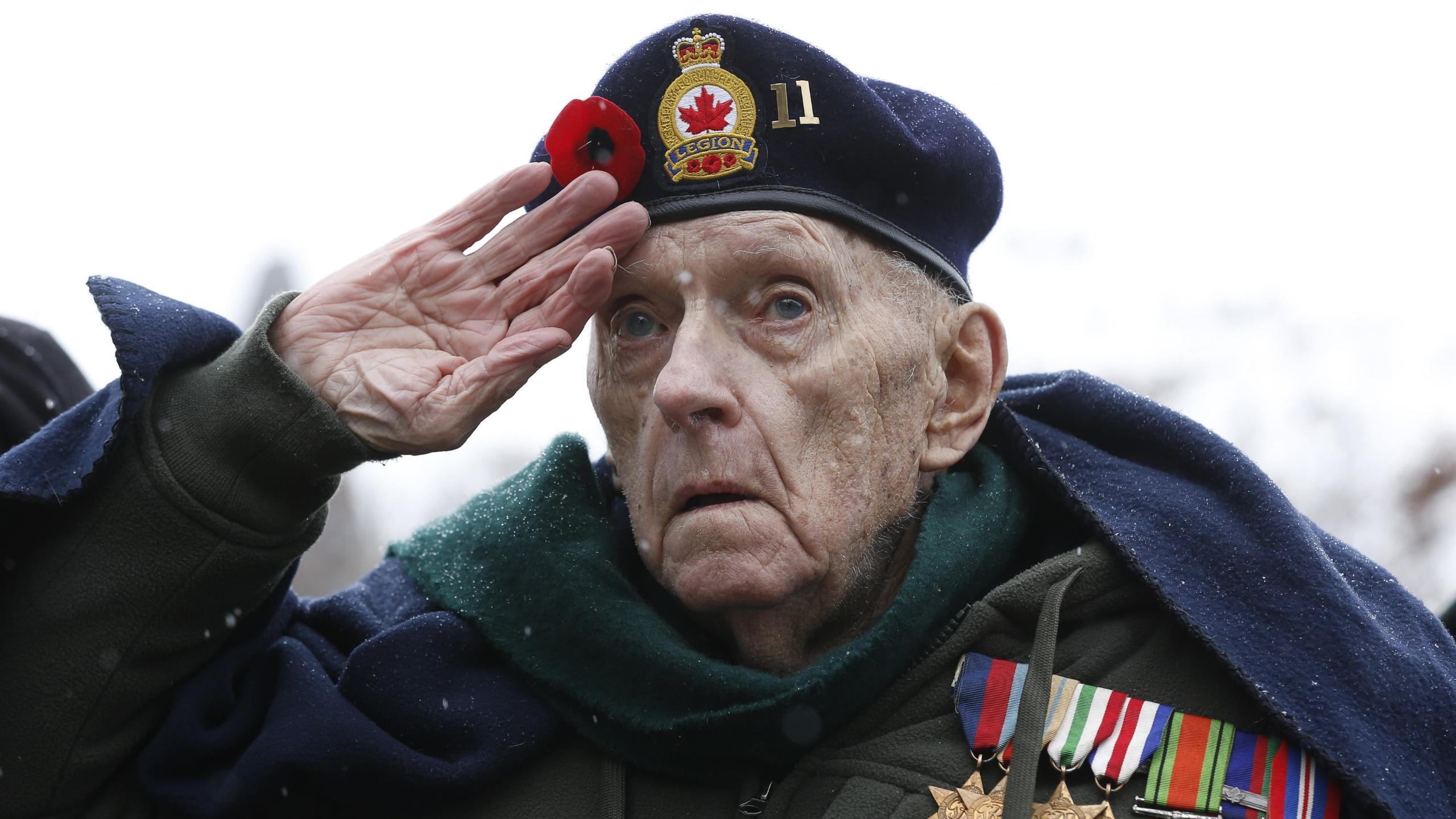 Ветераны падают чаще, но получают меньше травм, чем невоевавшие старики