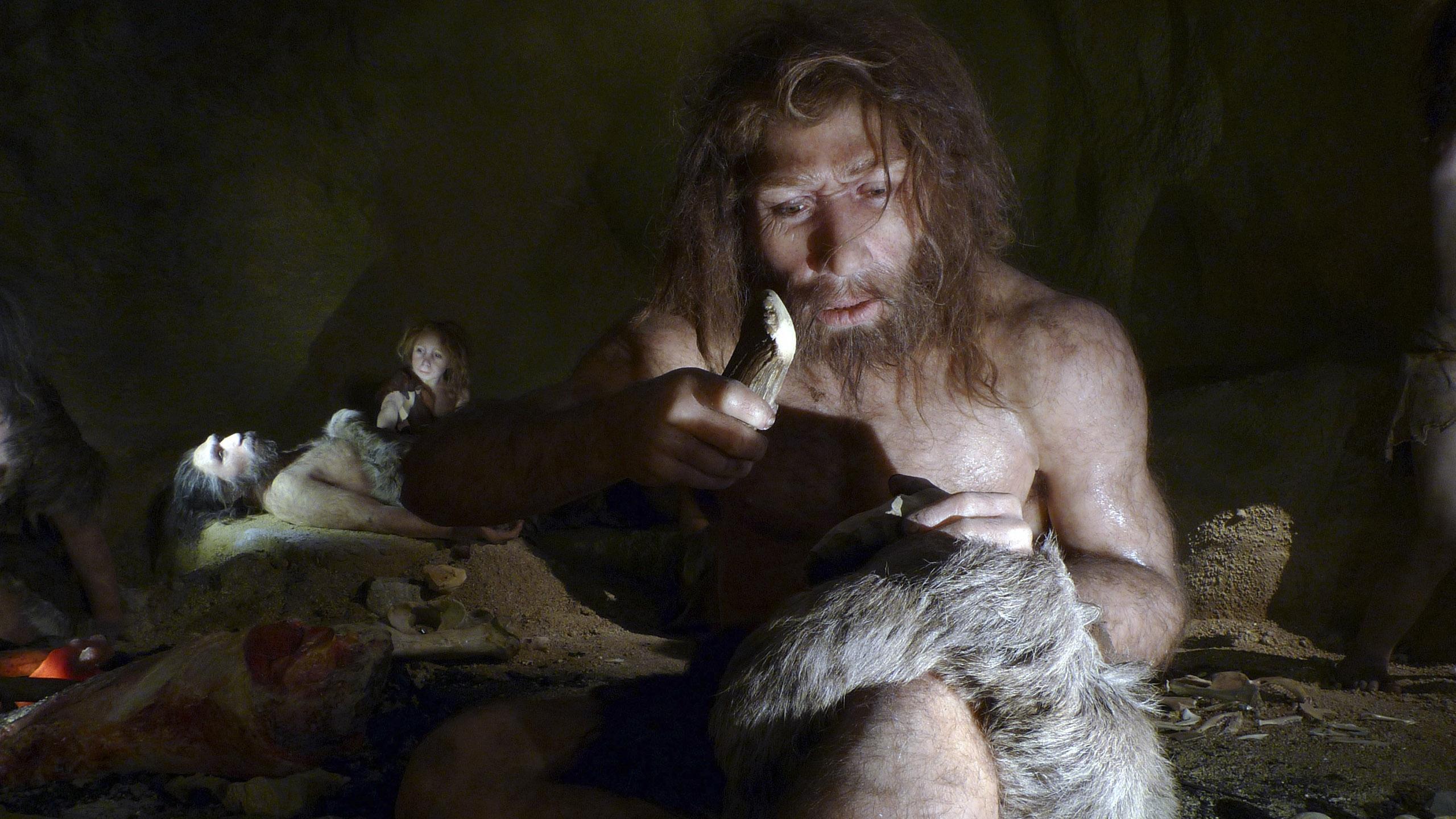 Неандертальцы: пряли, чтобы убивать? Обнаружены древнейшие в мире остатки верёвки
