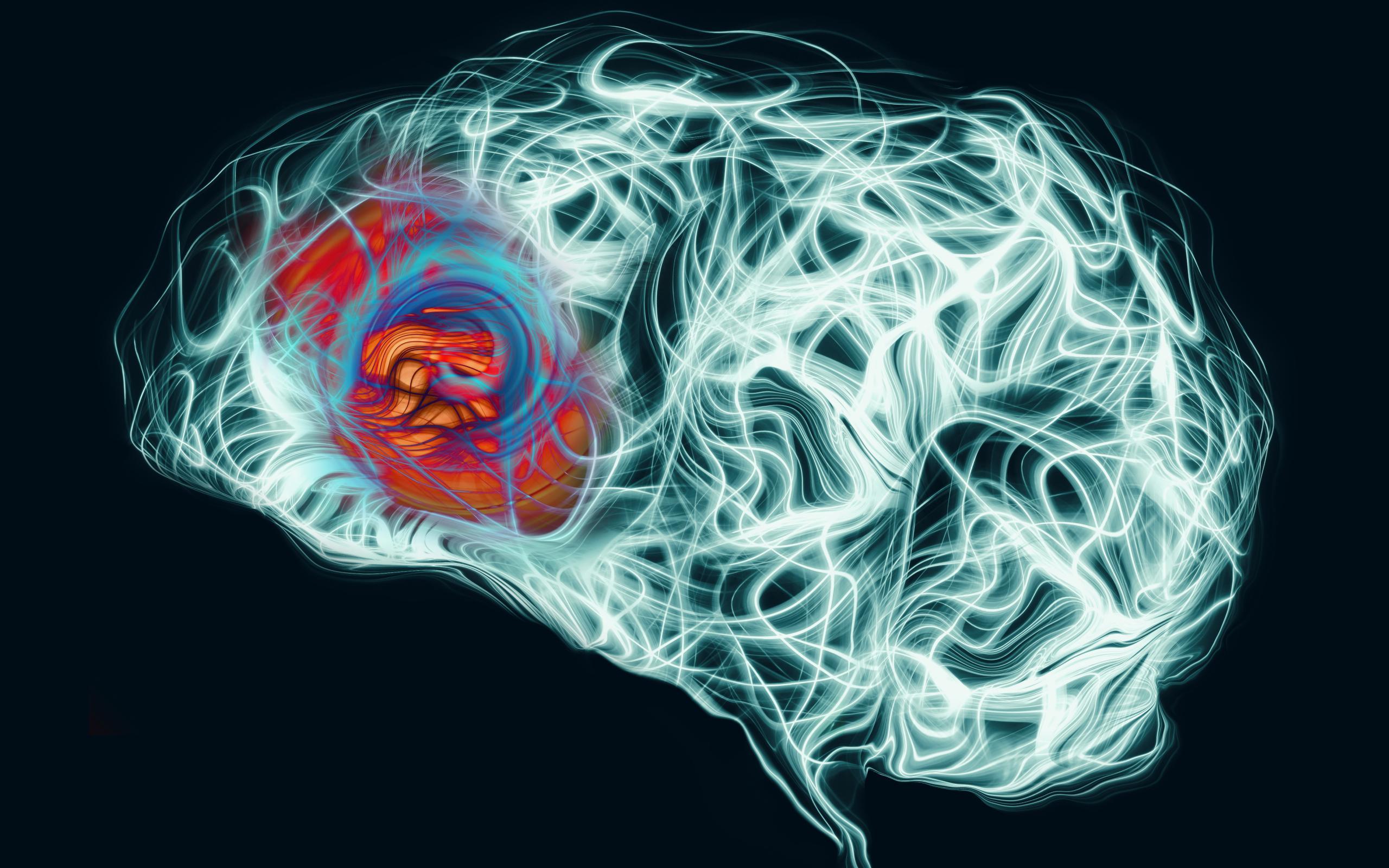 Вирус герпеса вызвал симптомы болезни Альцгеймера у трехмерной модели мозга