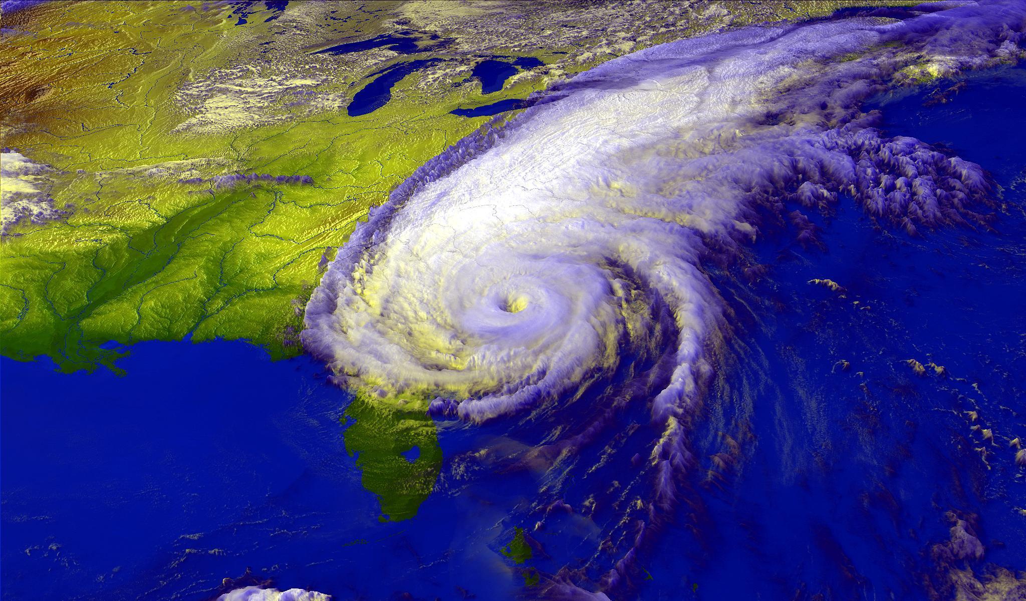 Исследование подтвердило, что ураганы станут сильнее