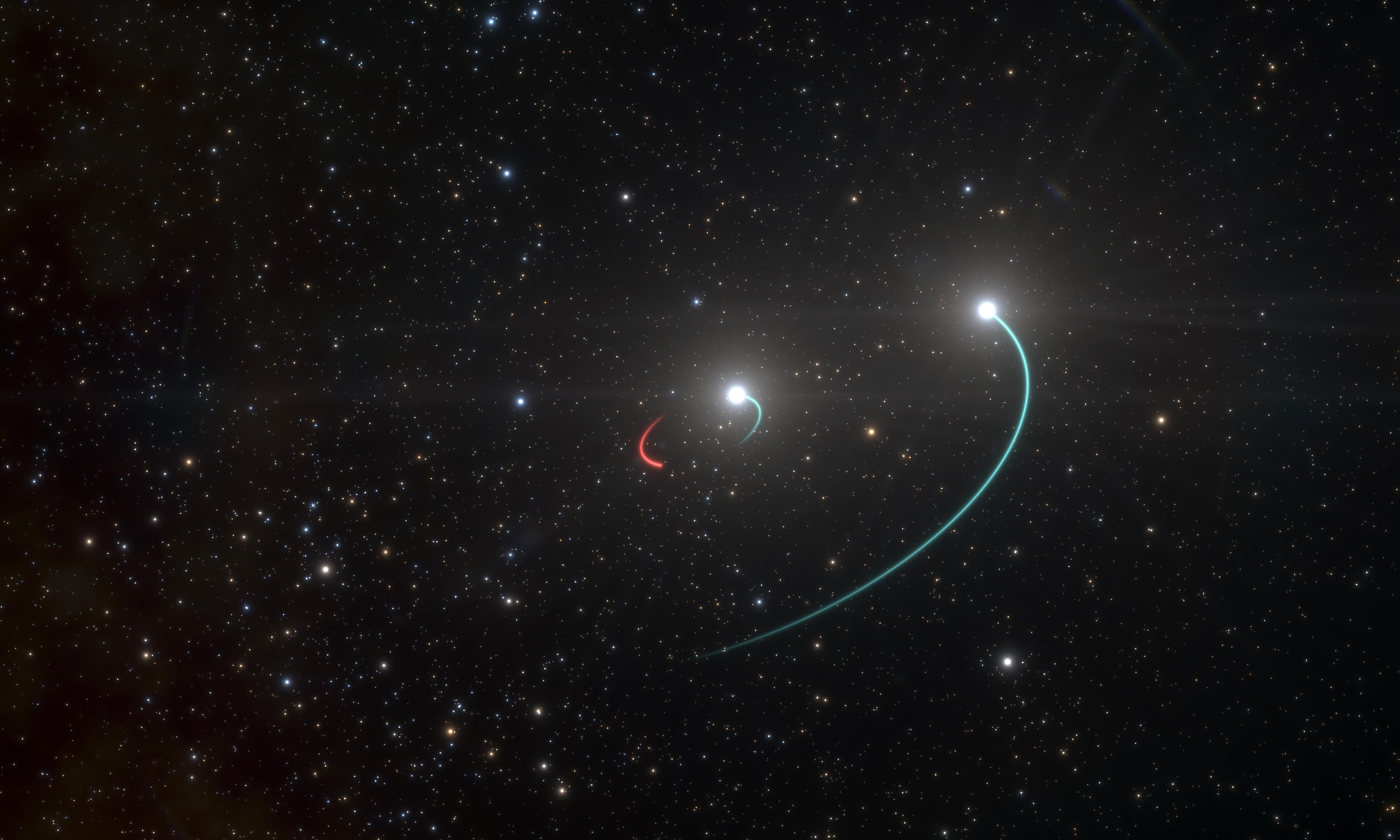 Недалеко от Земли найдена черная дыра