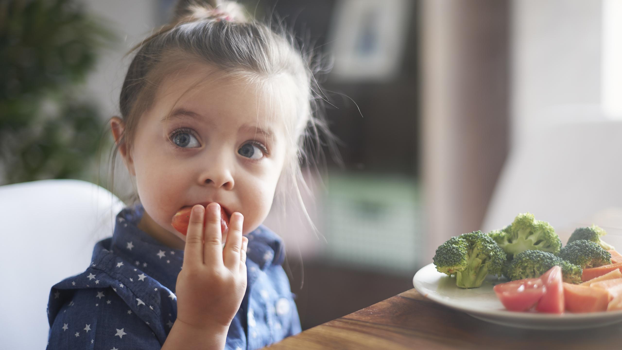 Дети менее привередливы в пище, когда родители не заставляют их есть