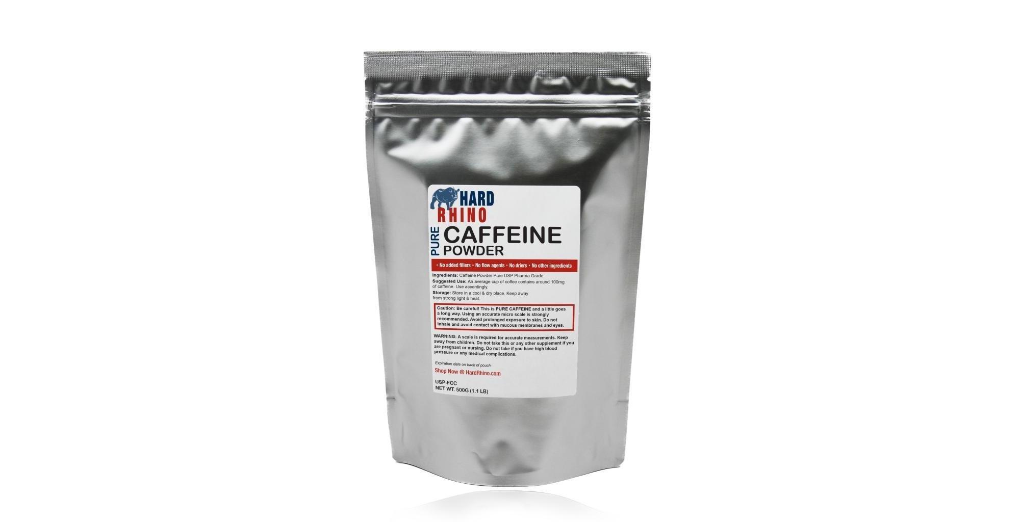 Передозировка порошковым кофеином смертельно опасна