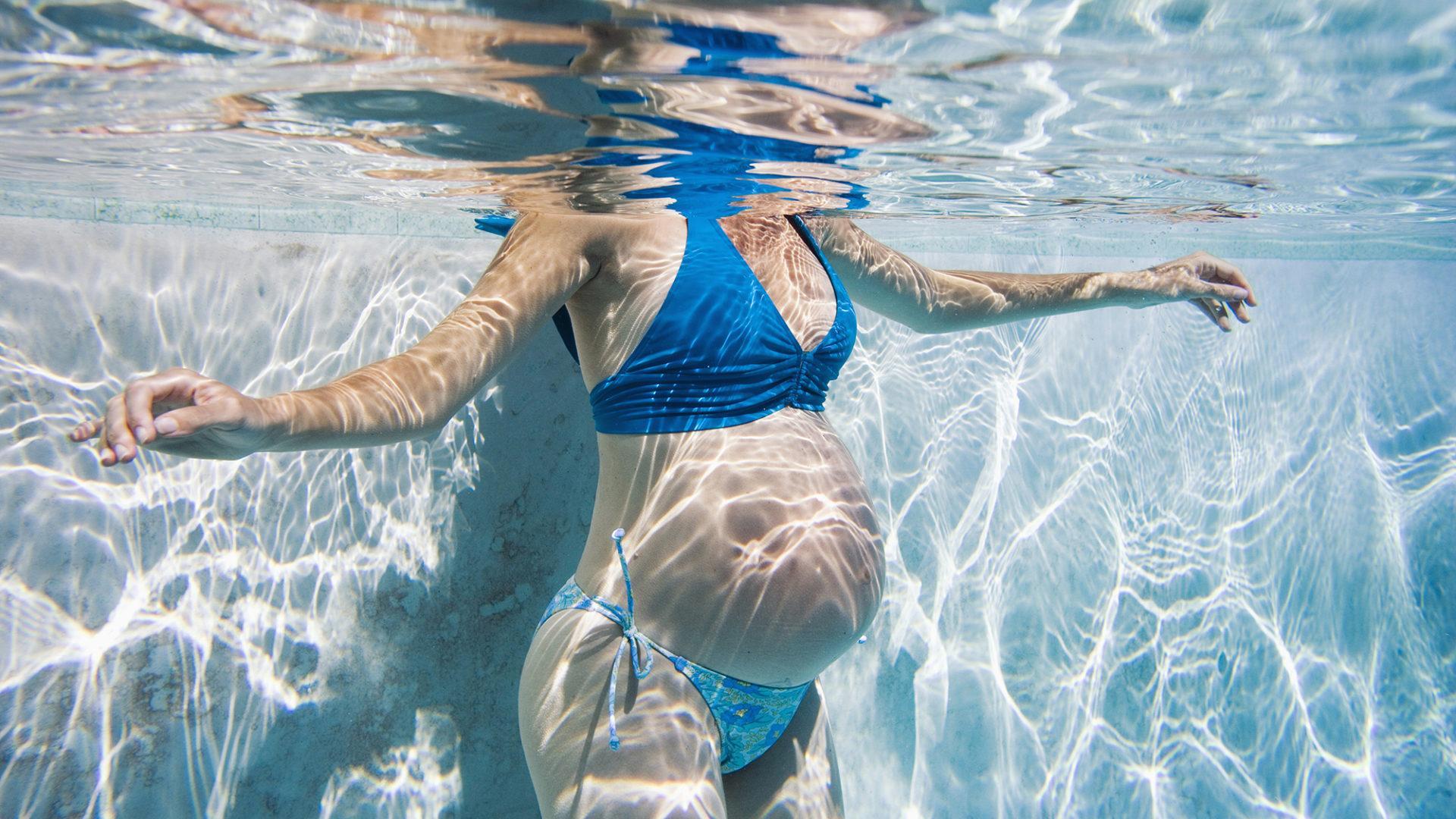 Как с пользой ходить в бассейн при беременности
