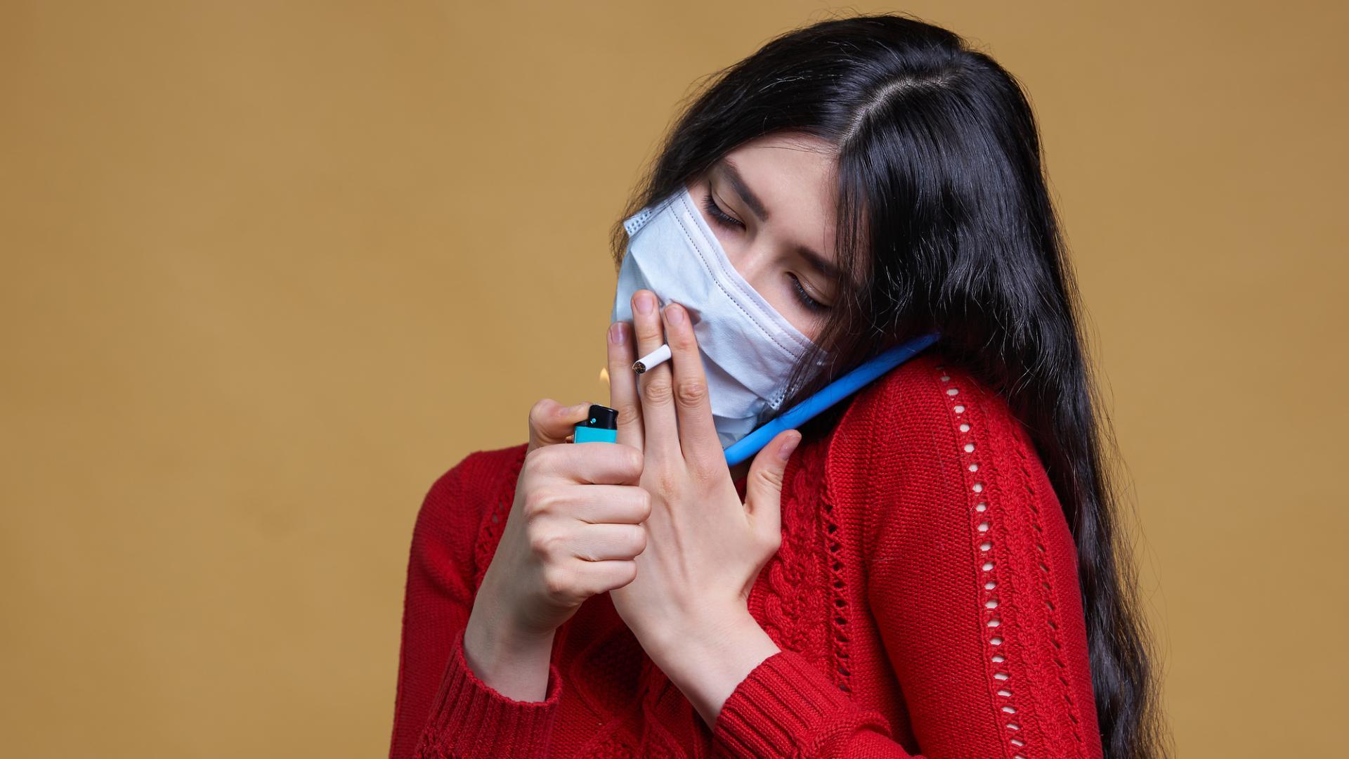 Как связаны курение табака, коронавирусная болезнь и тяжесть её протекания?