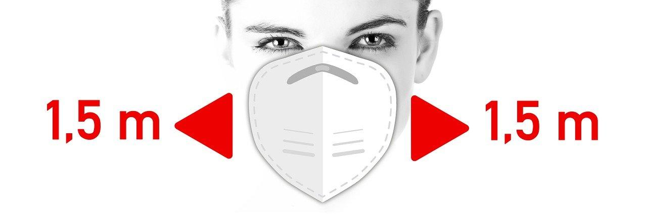 Многоразовые маски во время пандемии коронавируса