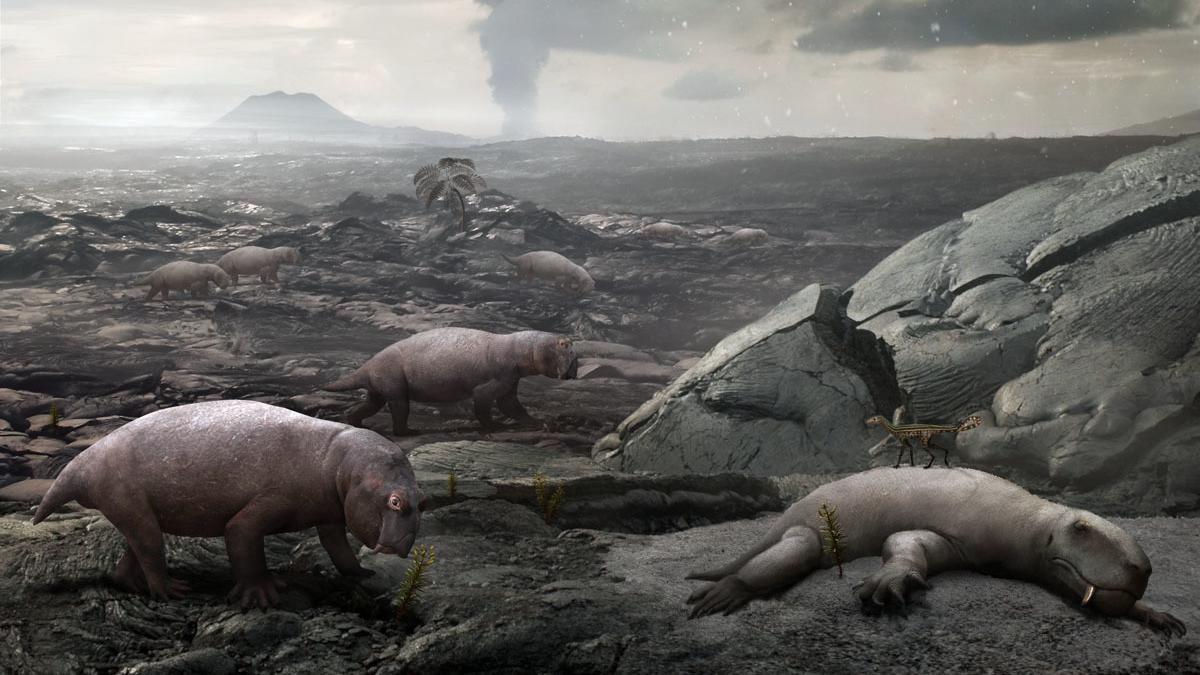 Горение угля обвинили в самом массовом вымирании в истории