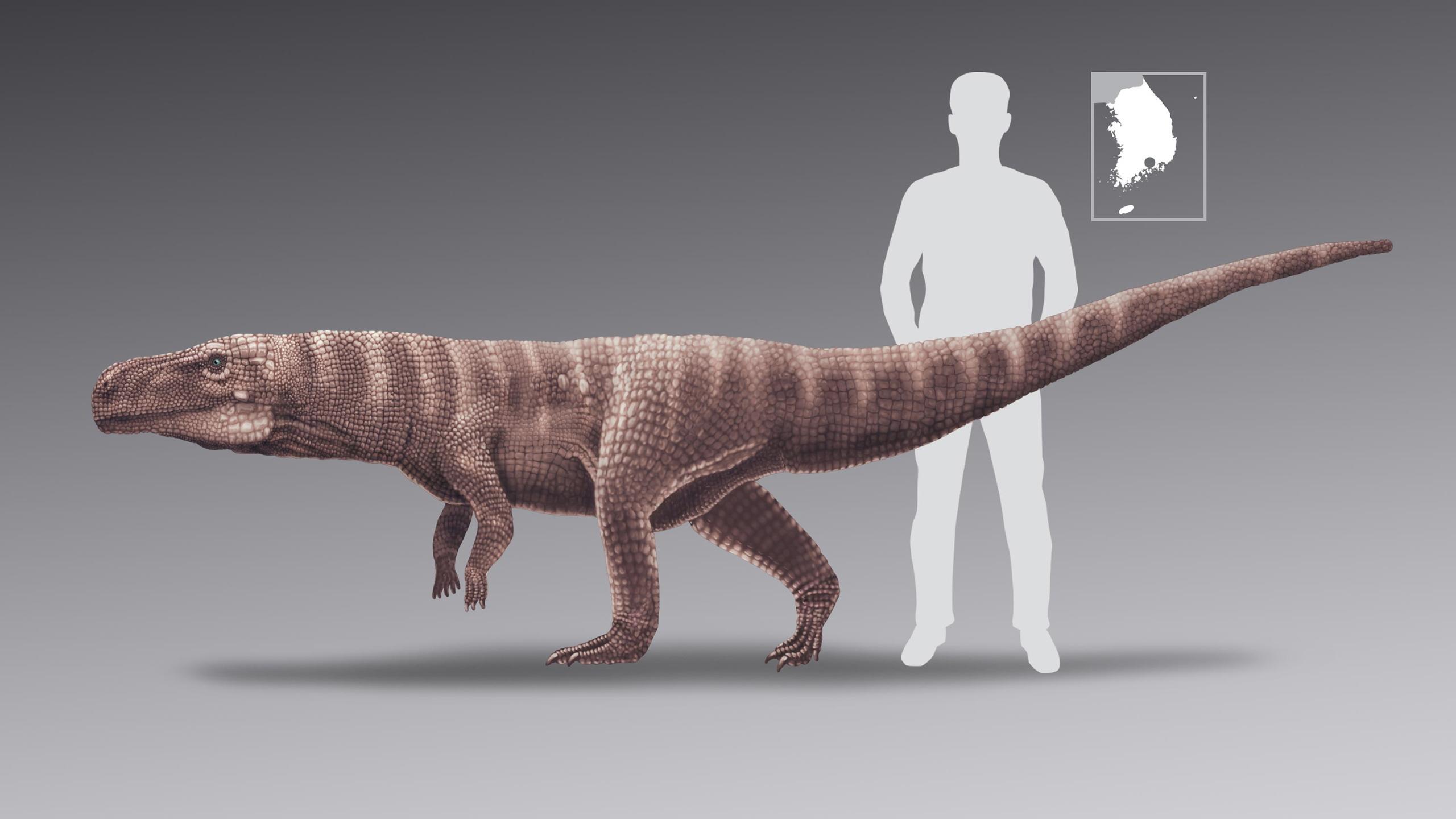 Обнаружены следы двуногих крокодилов мелового периода