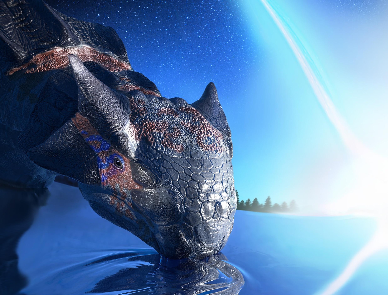 Динозавры вымерли из-за астероида …несмотря на помощь со стороны вулканов