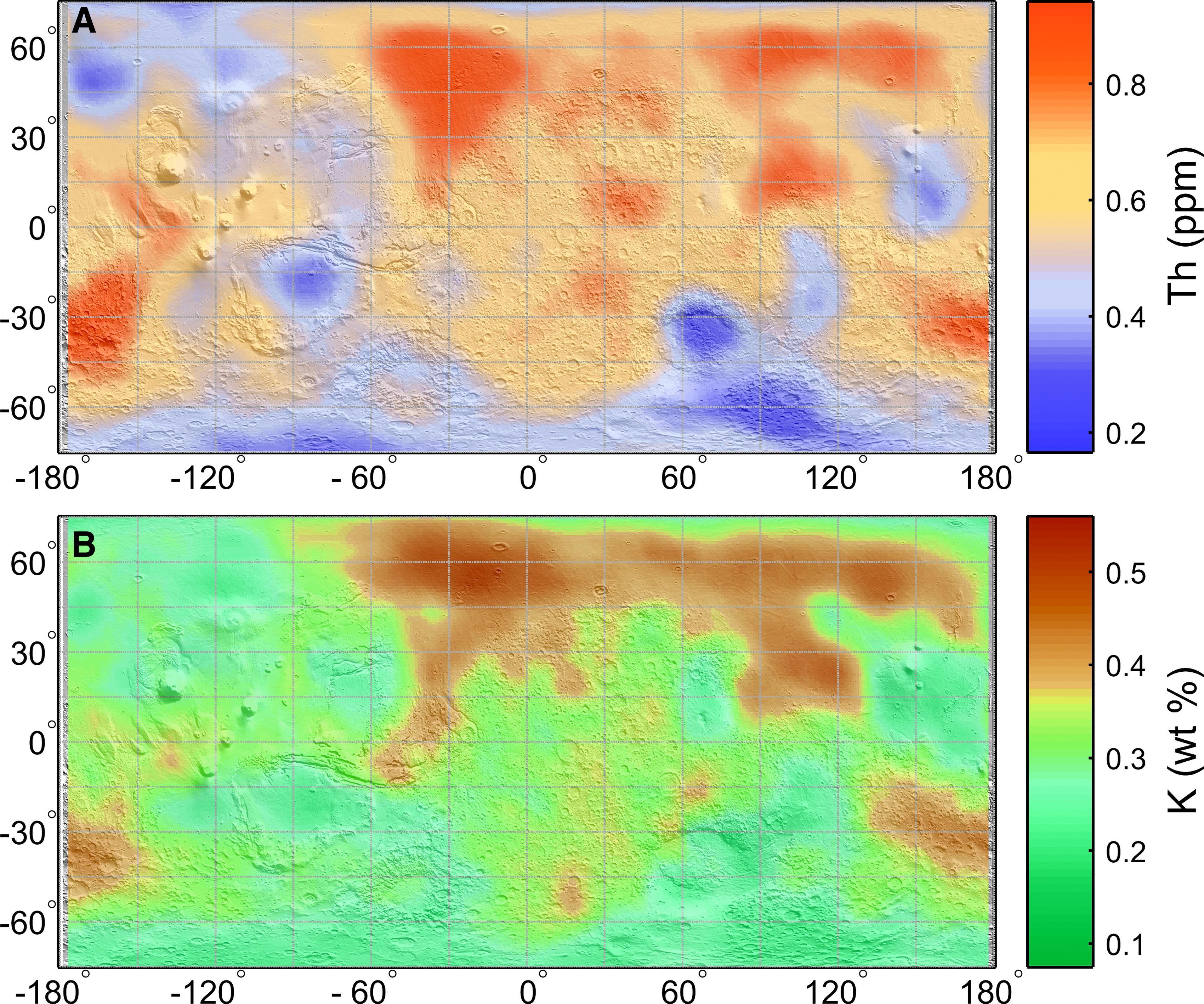 Условия на древнем Марсе могли быть благоприятными для подземных бактерий