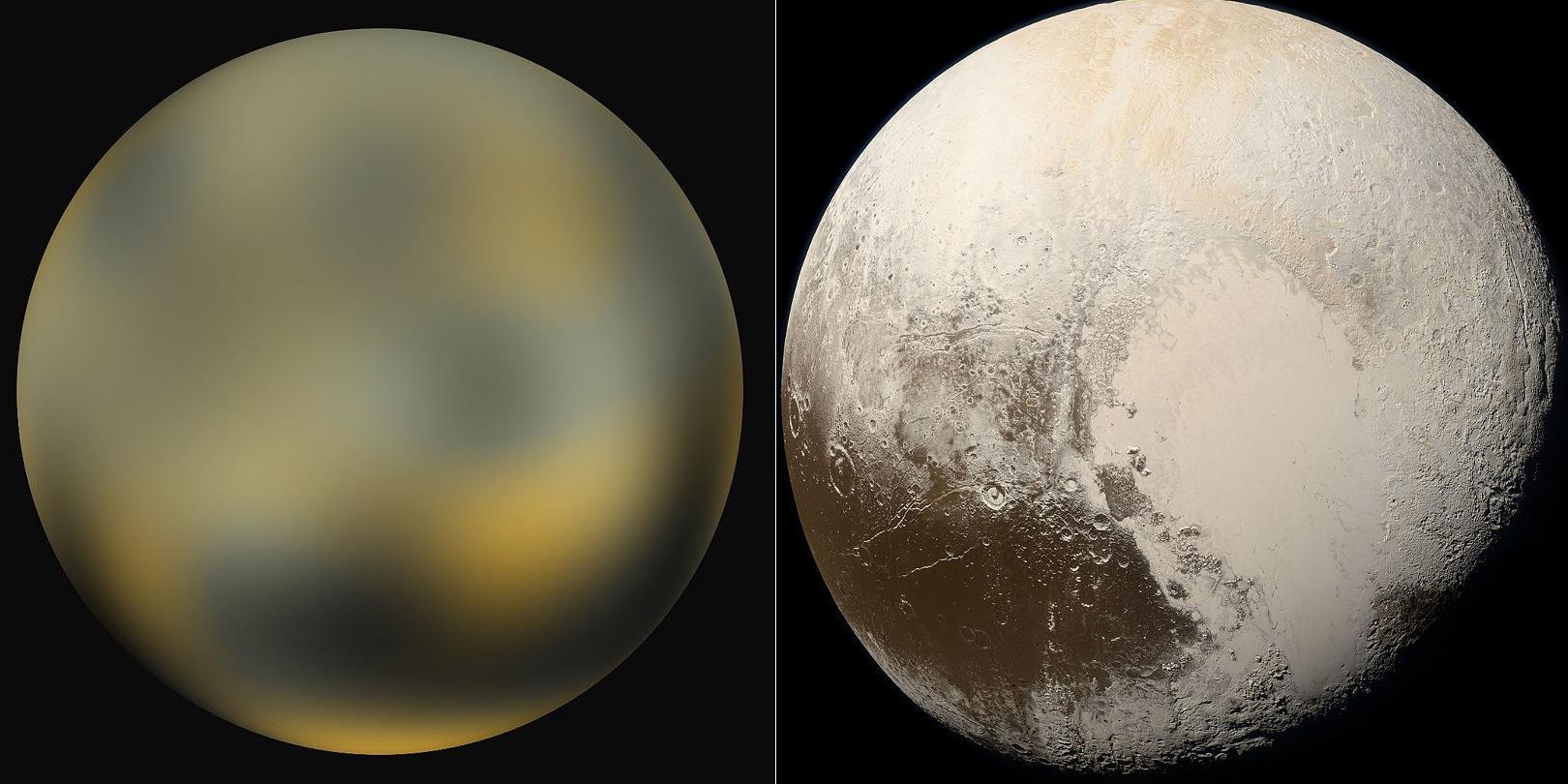 Океан на Плутоне мог существовать с рождения планеты