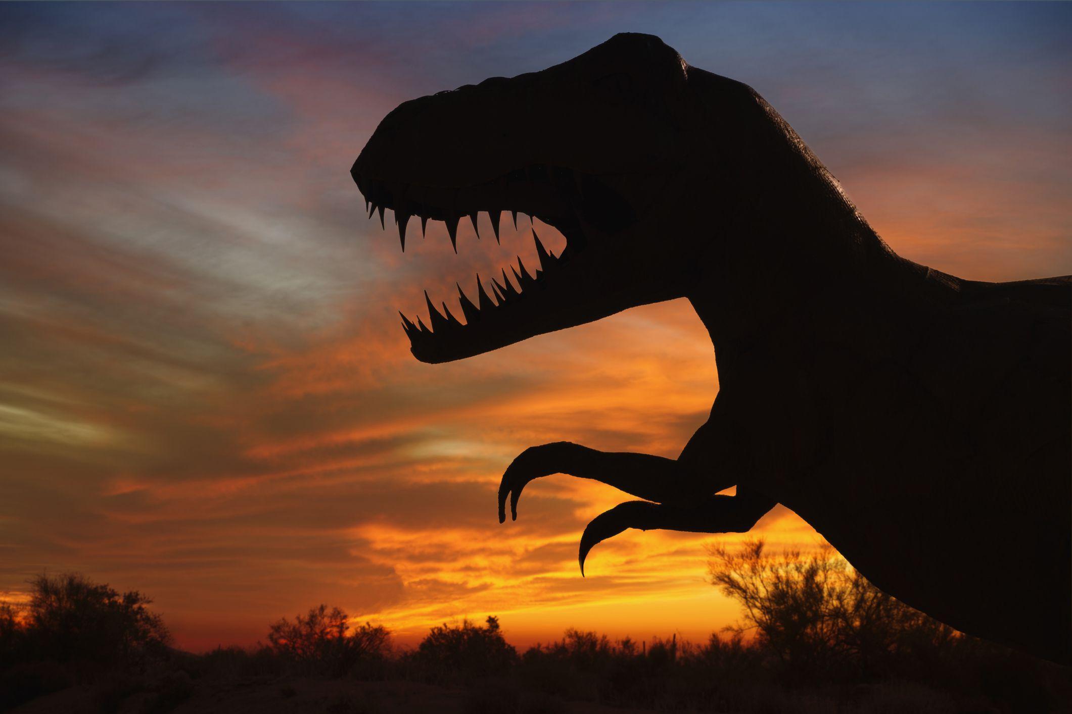 От чего вымерли динозавры?
