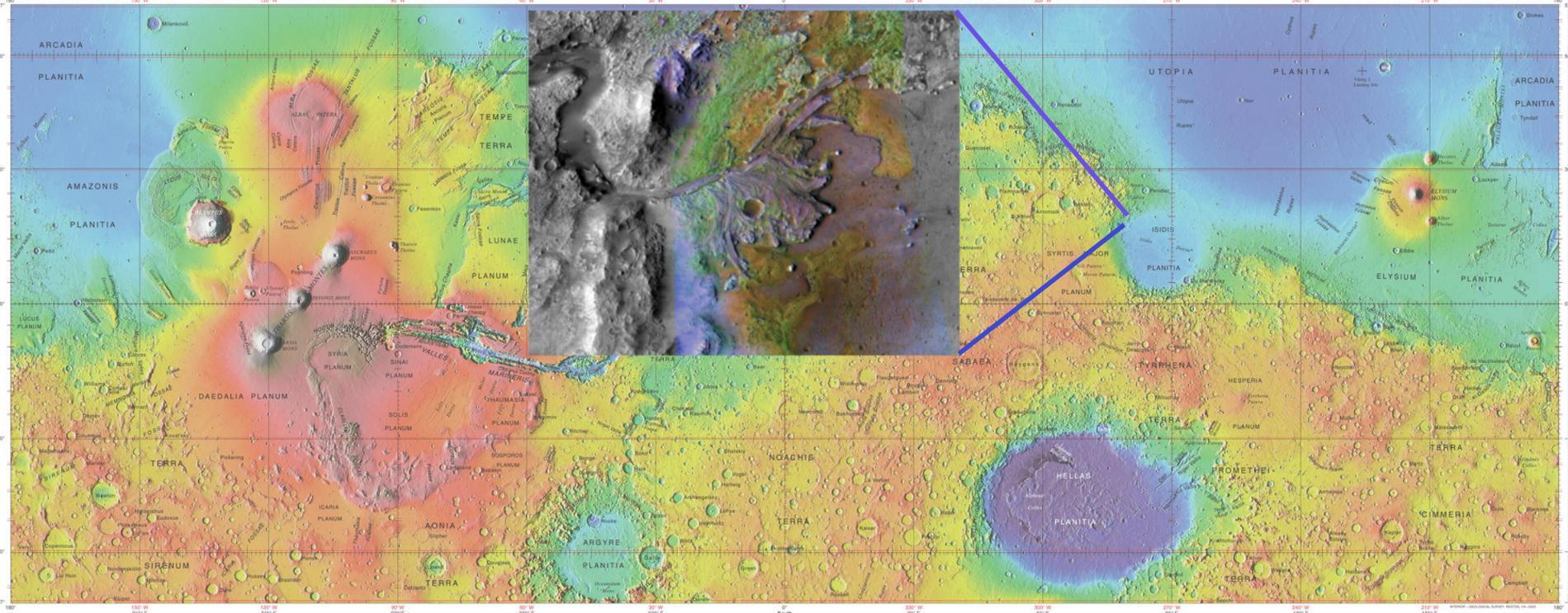 Вода на древнем Марсе: планетарные штормы или весенние паводки