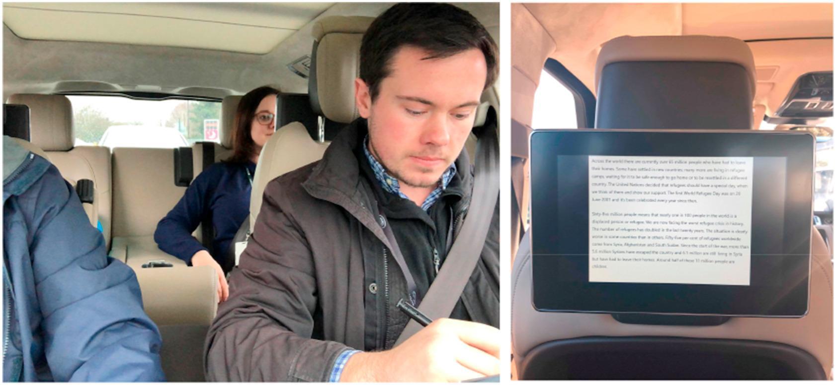 Тренировка мозга помогает перенести укачивание в машине