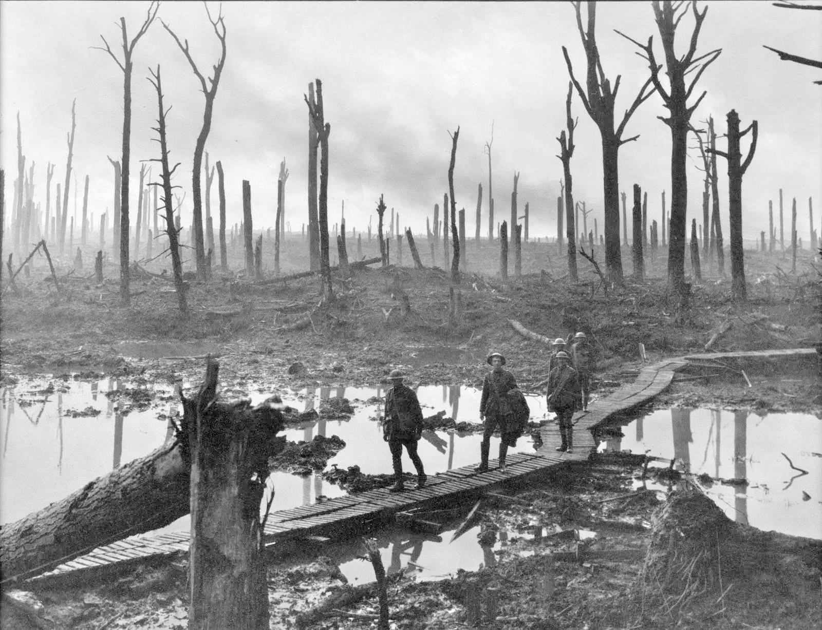 Климатическая аномалия могла привести к росту числа смертей в Первую мировую войну