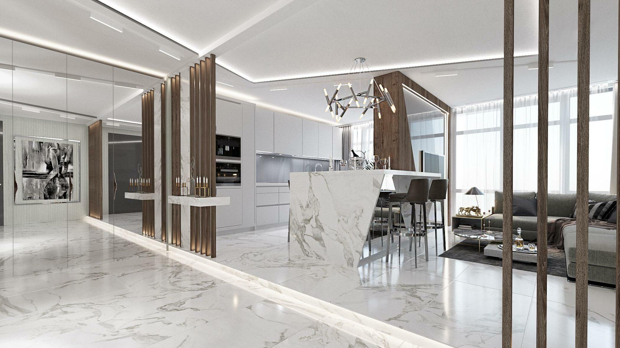 Оптимальная стоимость на услугу дизайн квартир в компании stroyhouse.od.ua