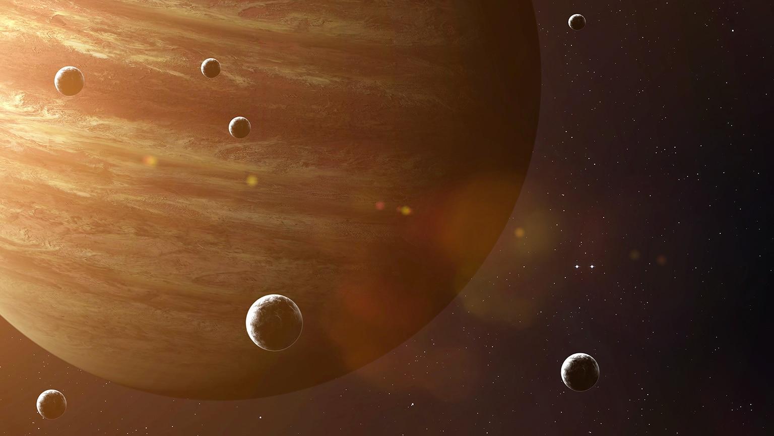 Спутники Юпитера сами согревают друг друга