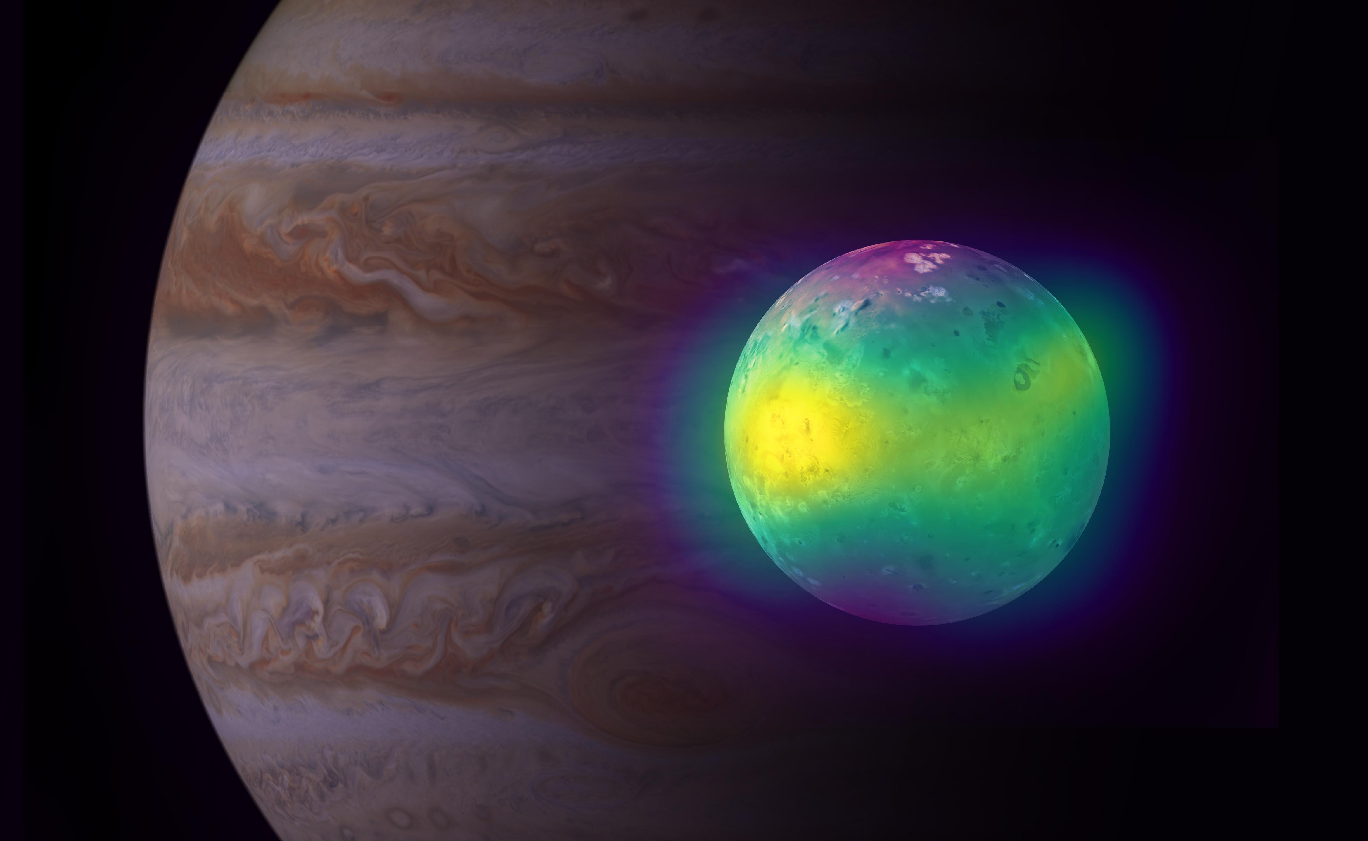 Астрономы объяснили происхождение атмосферы спутника Ио