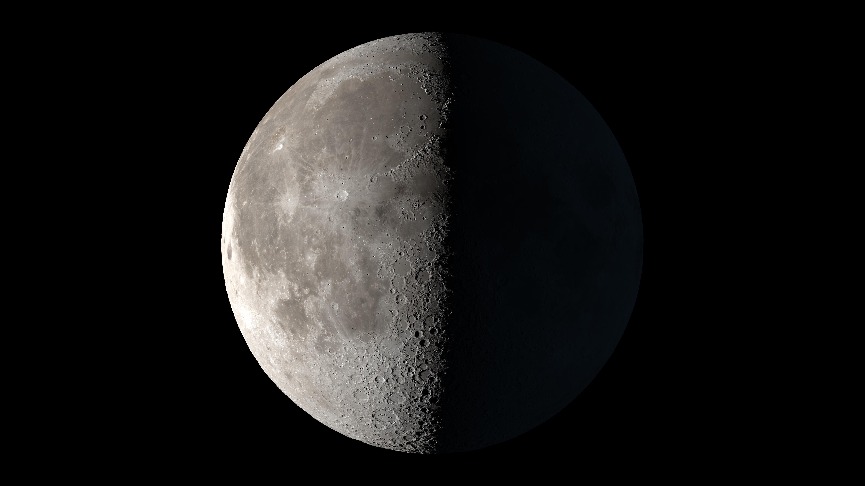 Астрономы подтвердили наличие воды на светлой стороне Луны