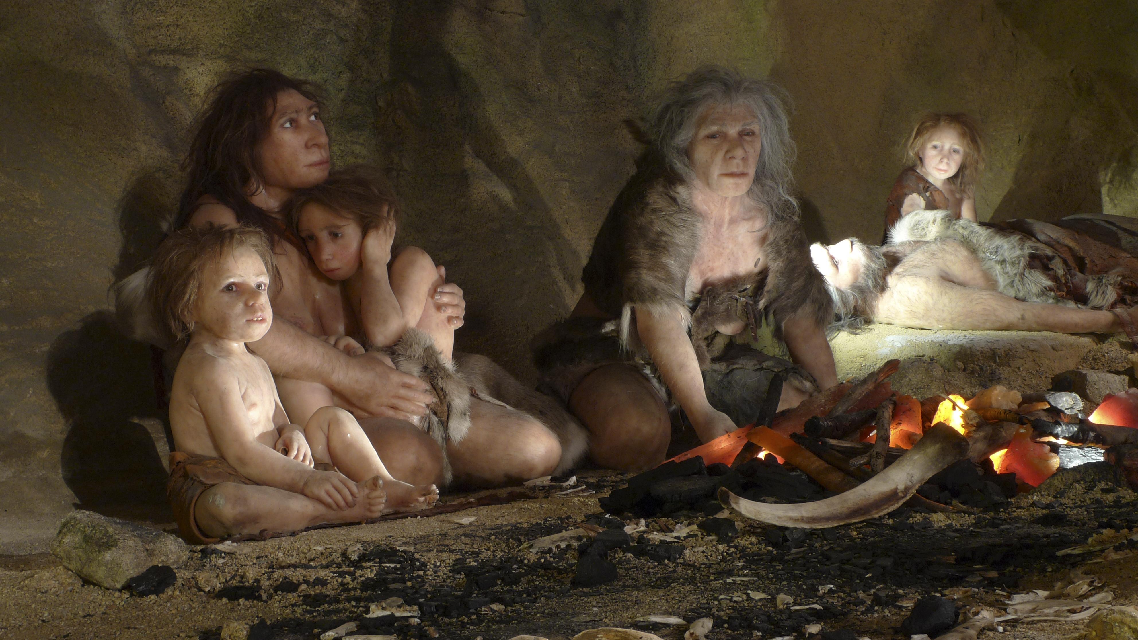 У неандертальцев была нормальная переносимость токсинов дыма