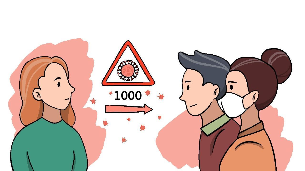 Сколько вирусных частиц требуется, чтобы заразиться SARS-CoV-2?