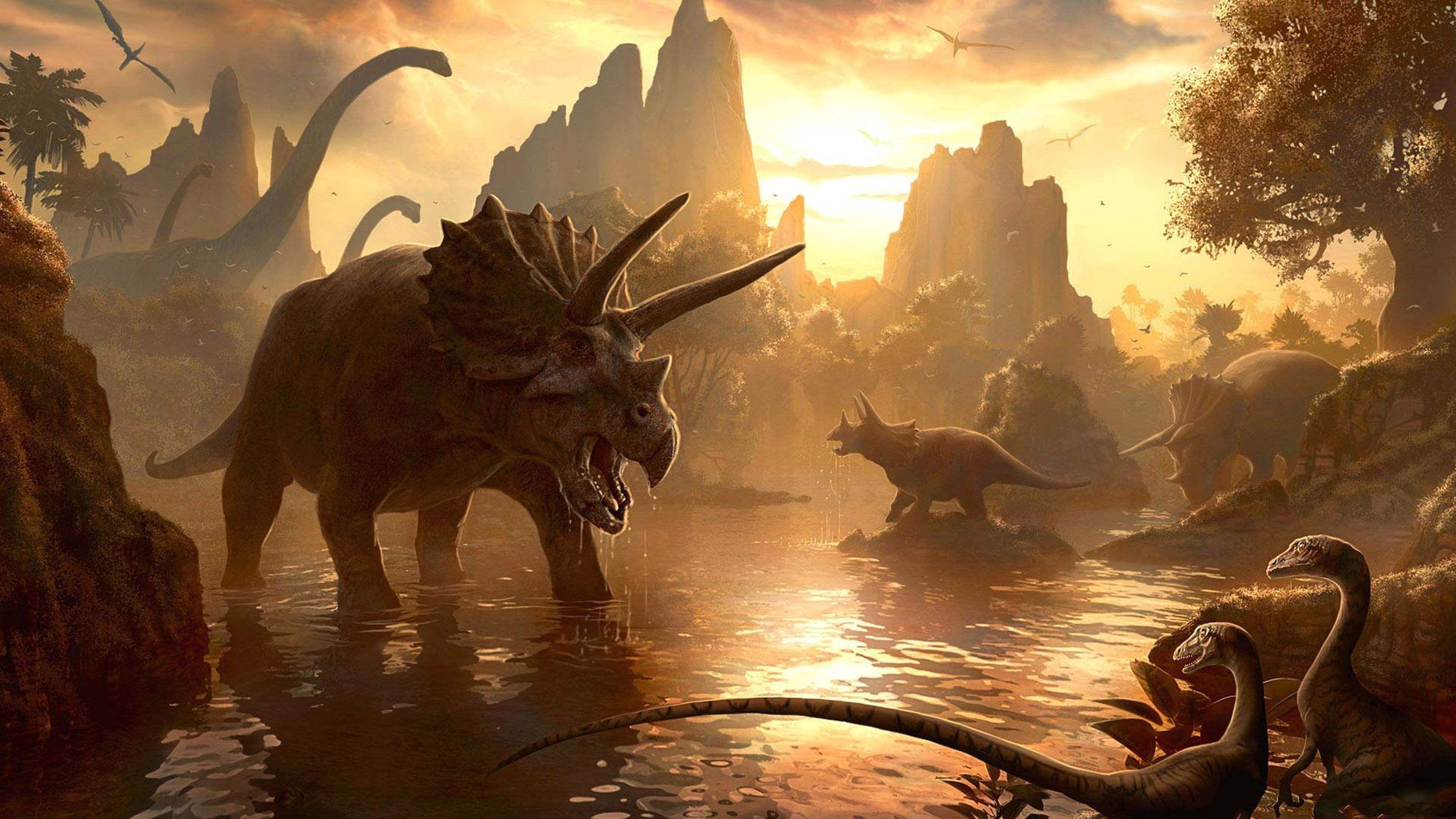 Динозавры не собирались вымирать до падения астероида
