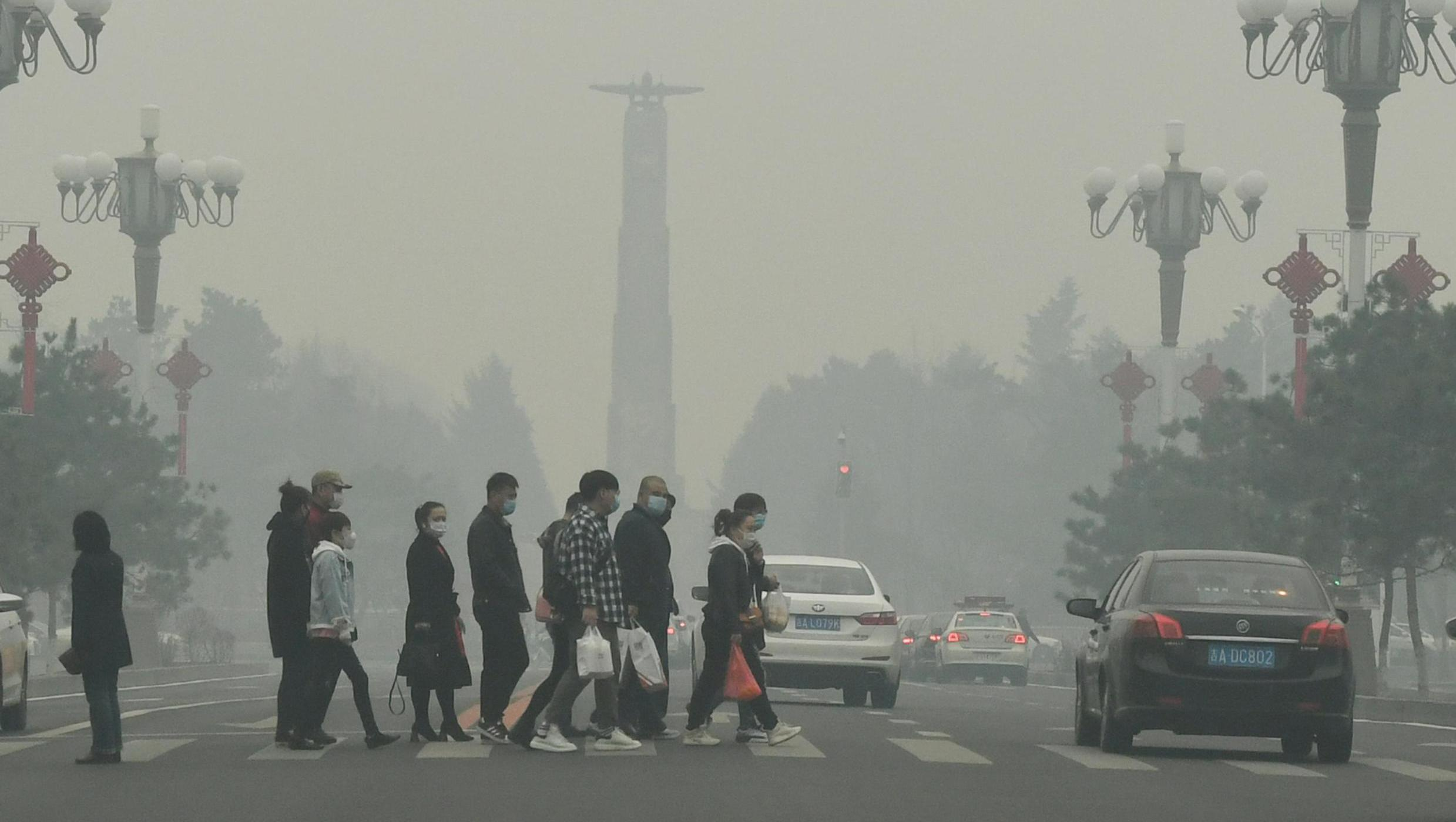 Загрязненный воздух увеличивает риск смерти от COVID-19