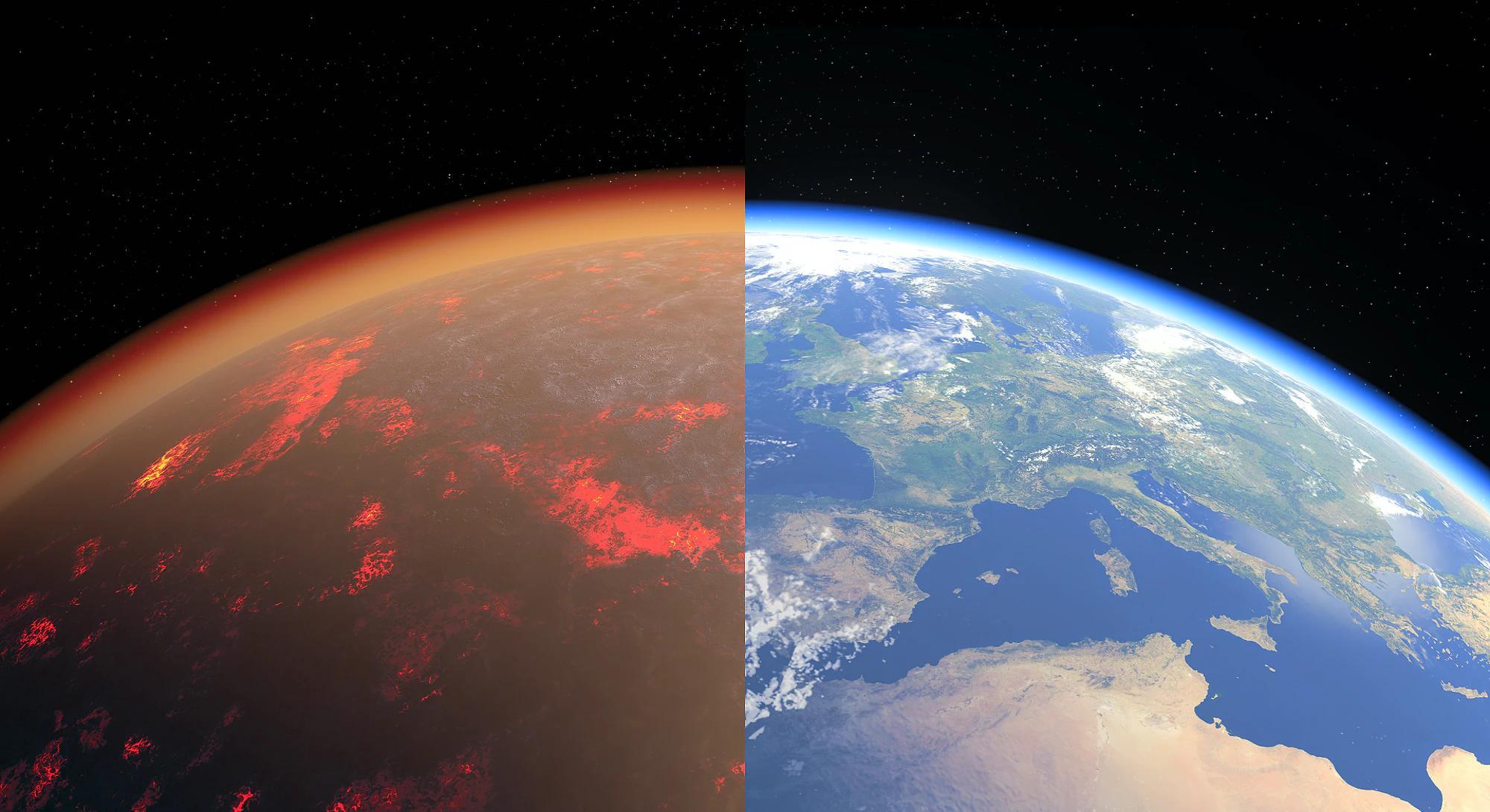 Эксперимент рассказал о составе атмосферы Земли 4,5 миллиарда лет назад