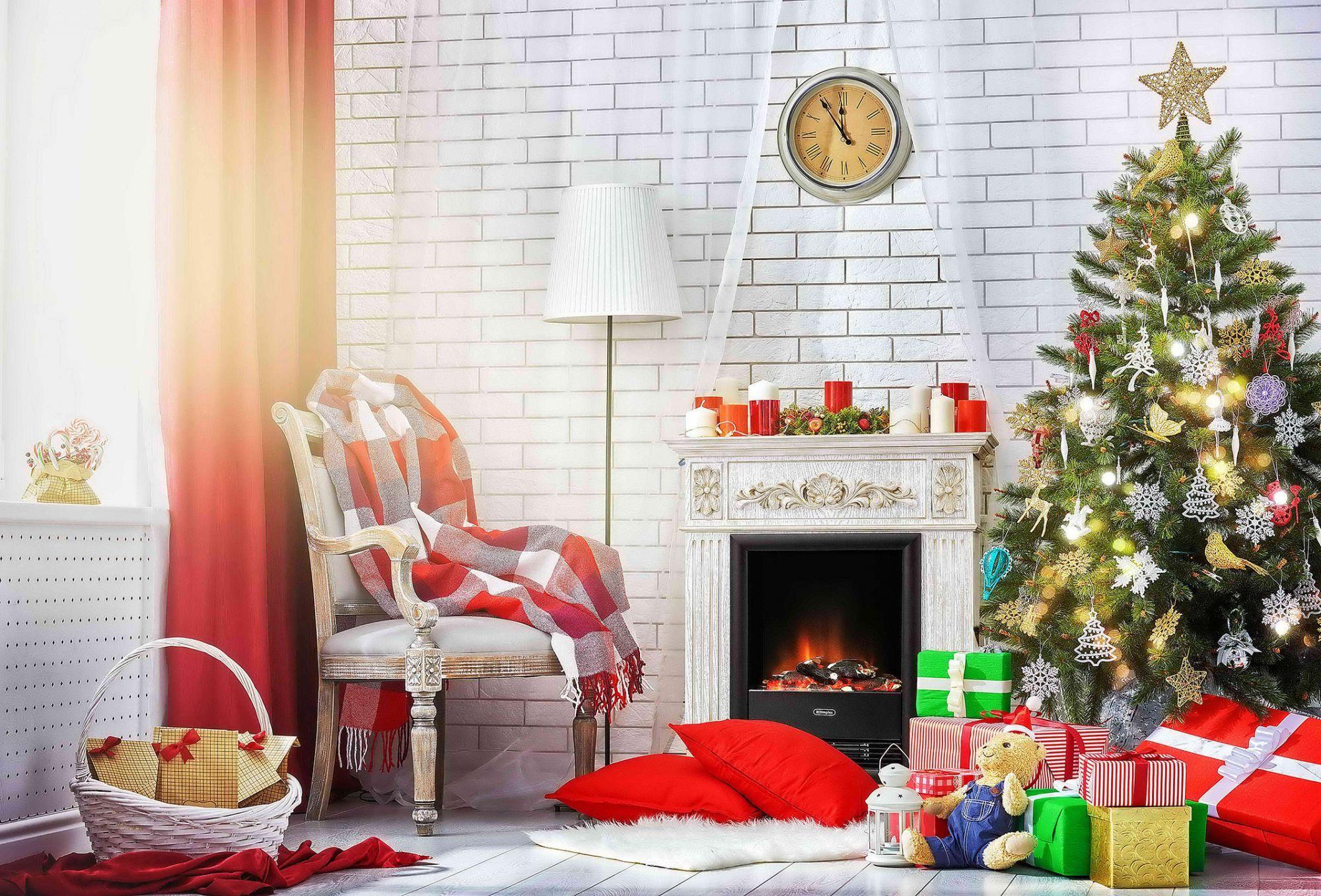 Основные атрибуты фотозоны на новый год