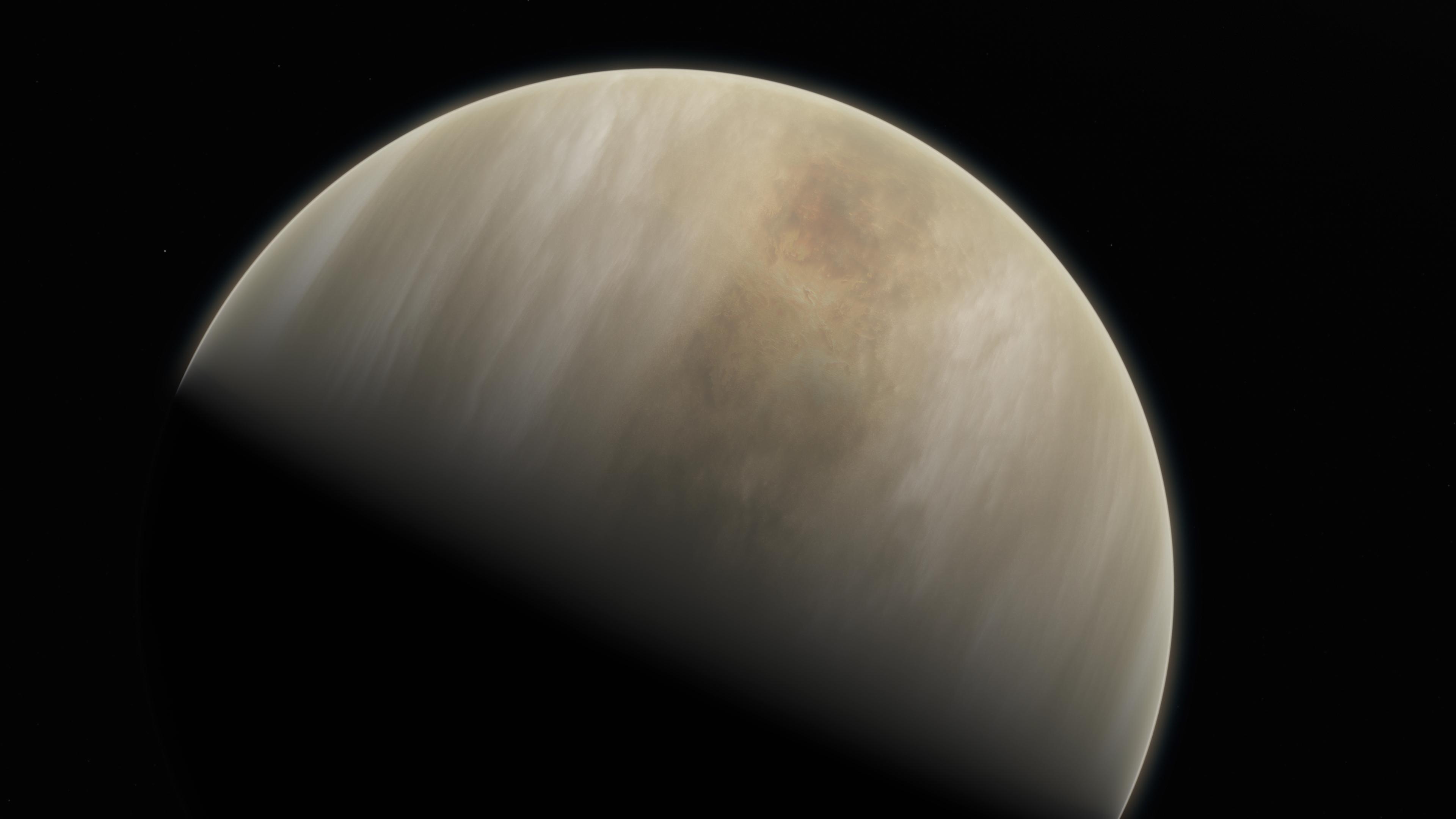 Пролетая мимо Венеры, Parker Solar Probe увидел то, чего не должен был: ему удалось случайно заглянуть под плотные облака