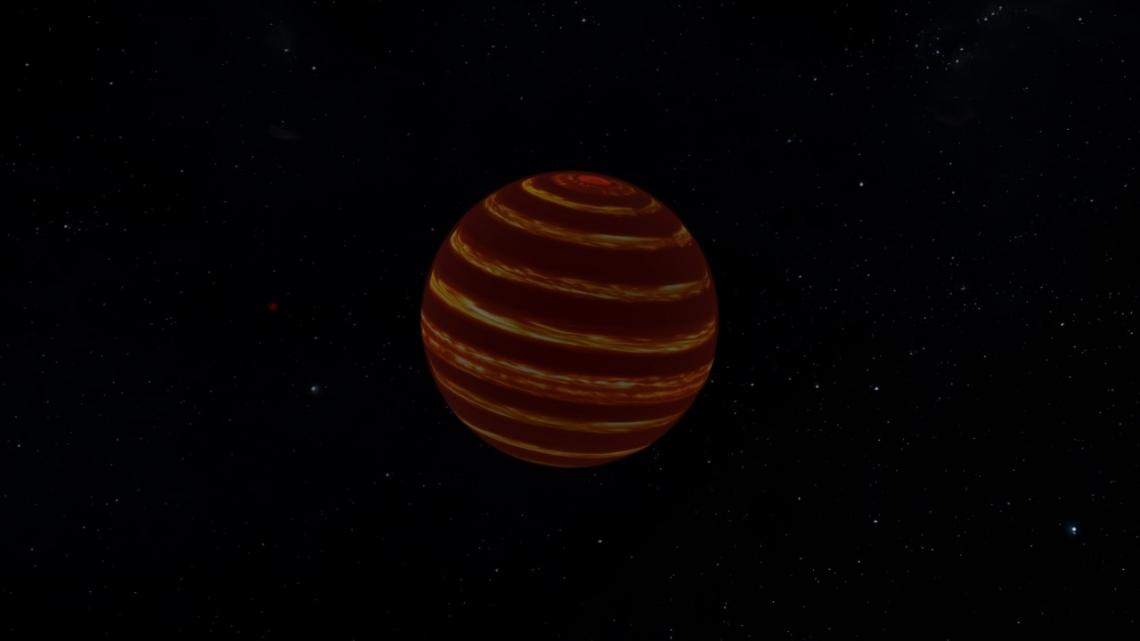 Астрономы впервые рассмотрели атмосферу коричневого карлика
